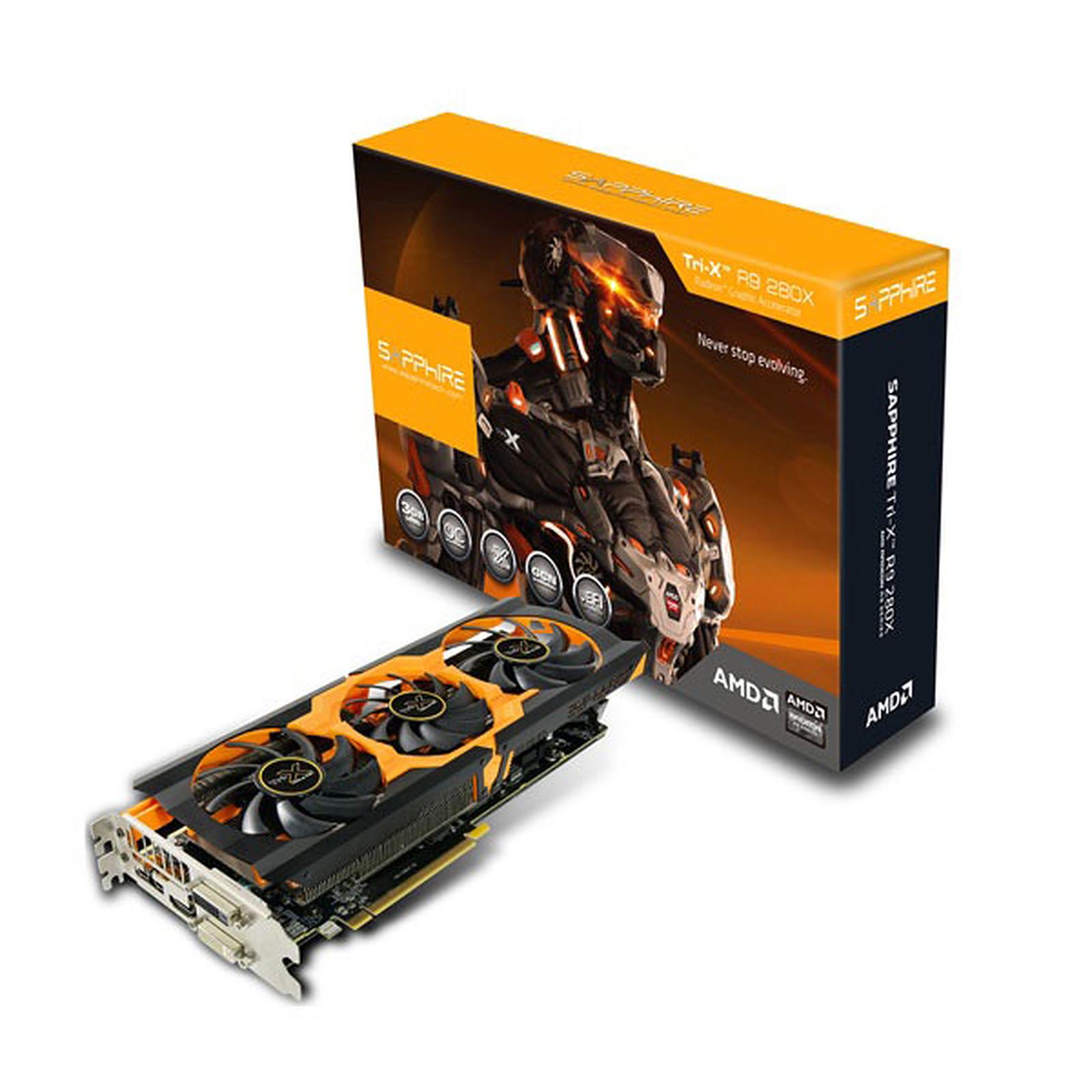 Sapphire Radeon R9 280X Tri-X 3G GDDR5 EUFI OC Version