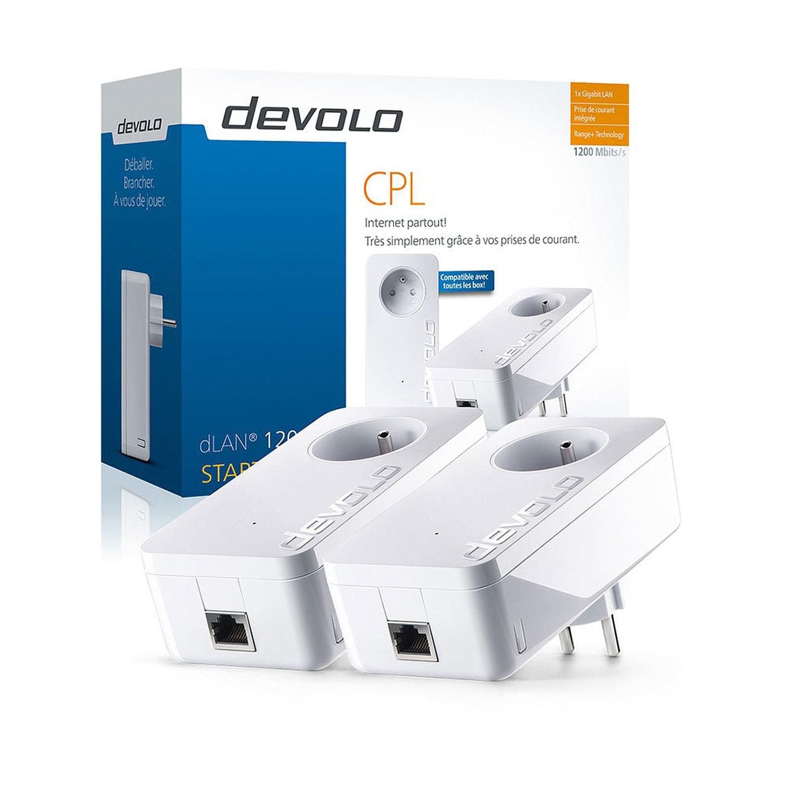 Devolo dLAN 1200+ Starter Kit - CPL Devolo AG sur LDLC.com