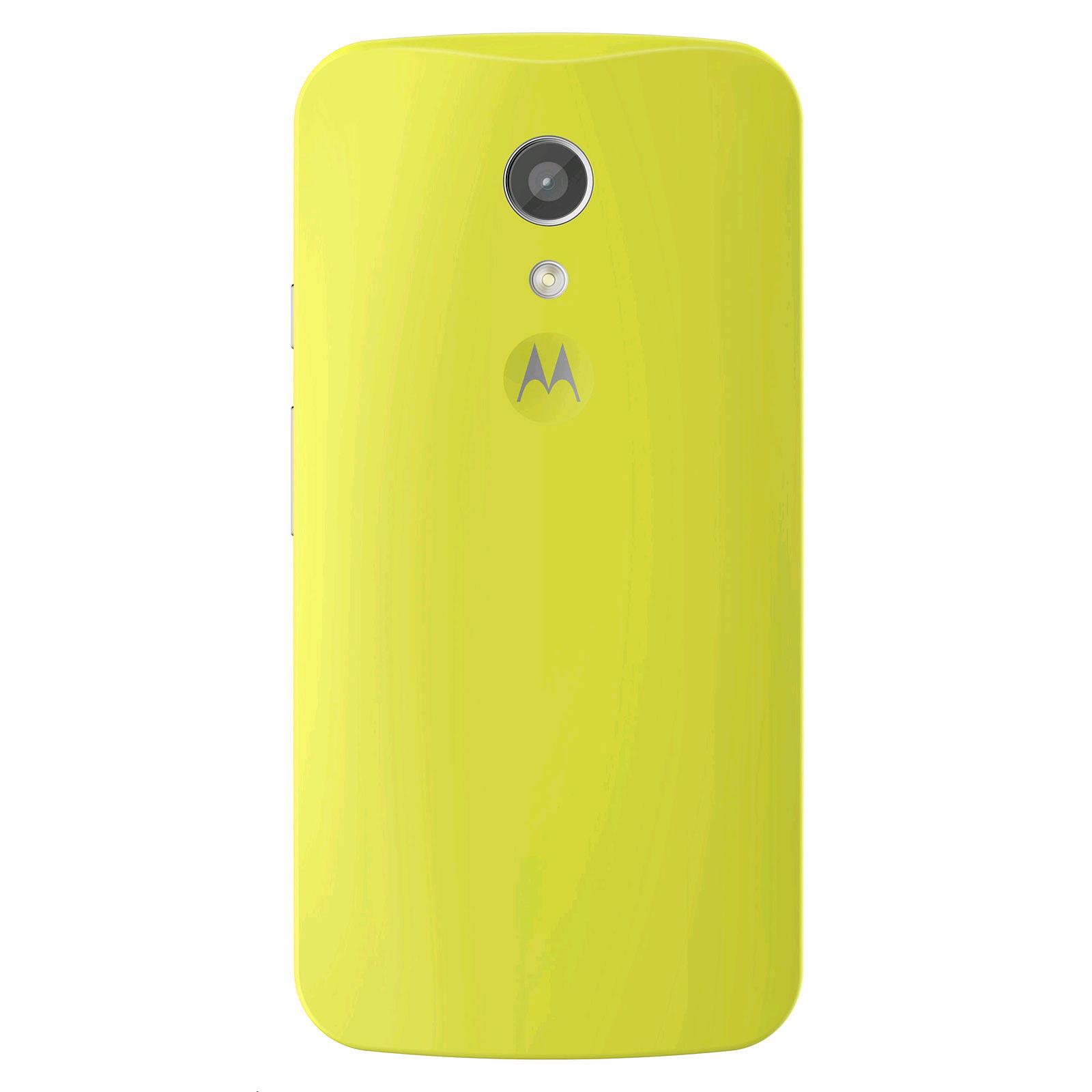 Motorola Coque d'origine Vert Lime Motorola Moto G 2ème Génération