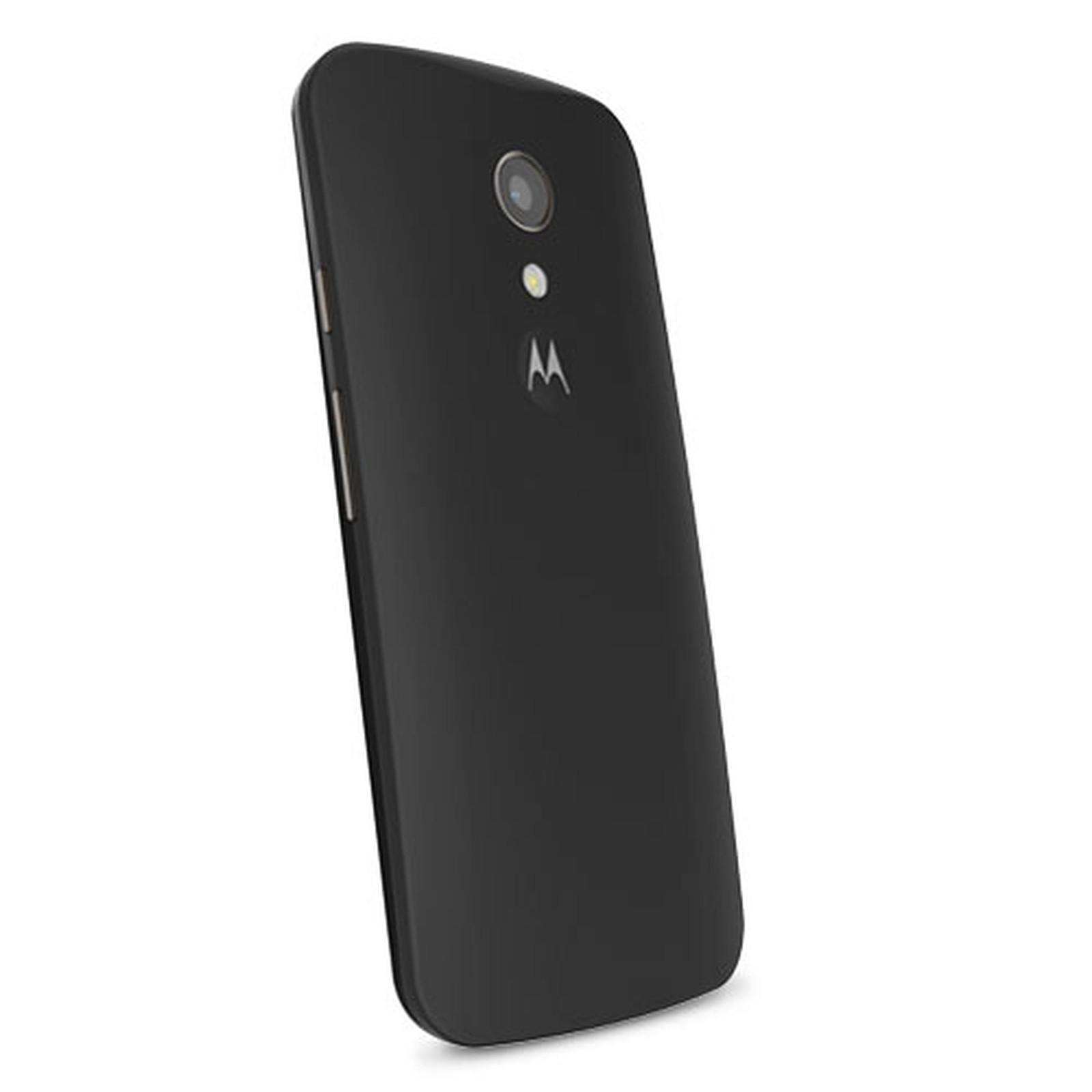 Motorola Coque d'origine Noir Motorola Moto G 2ème Génération