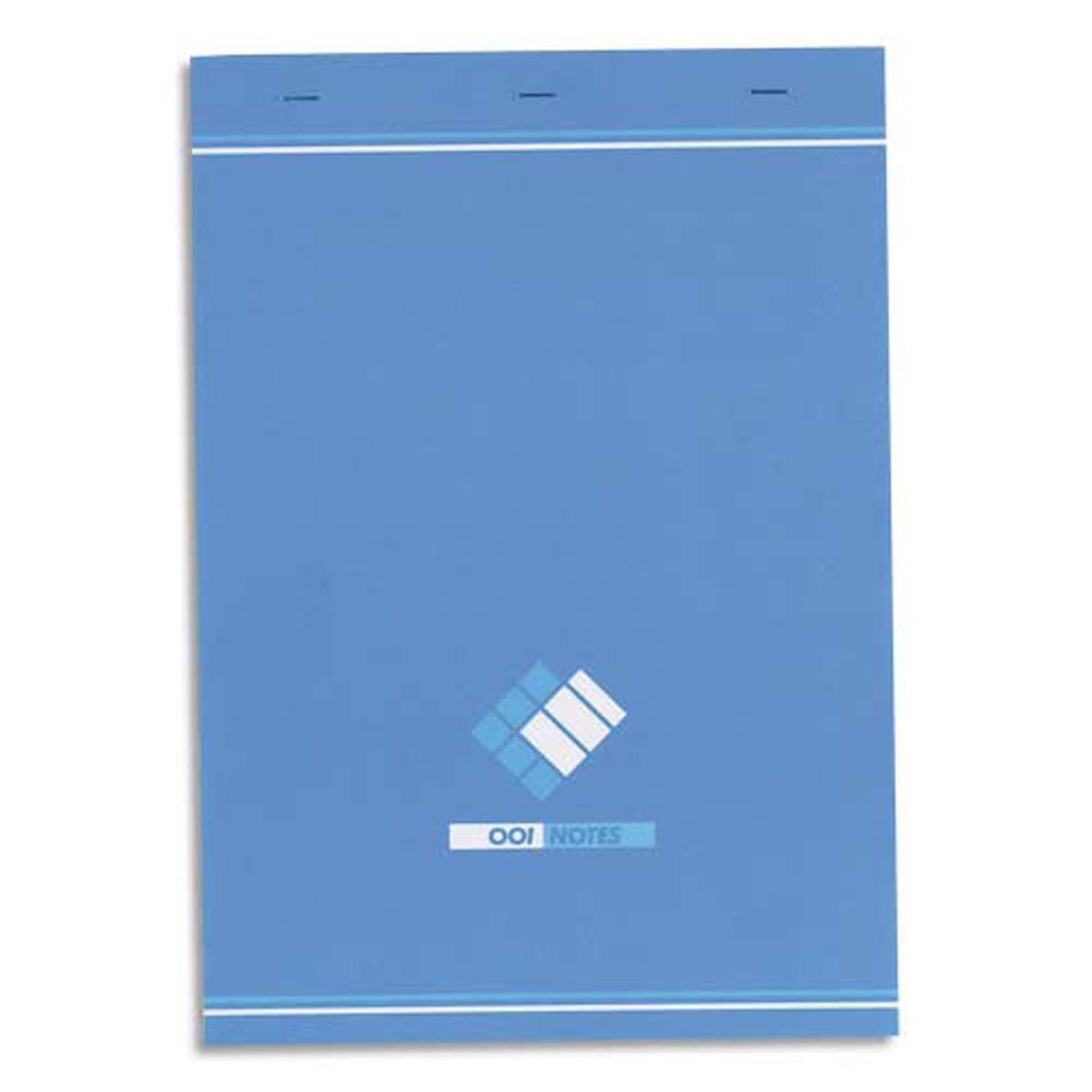 Oxford Bloc 001 Bloc notes 200 pages 210 x 297 mm petits carreaux