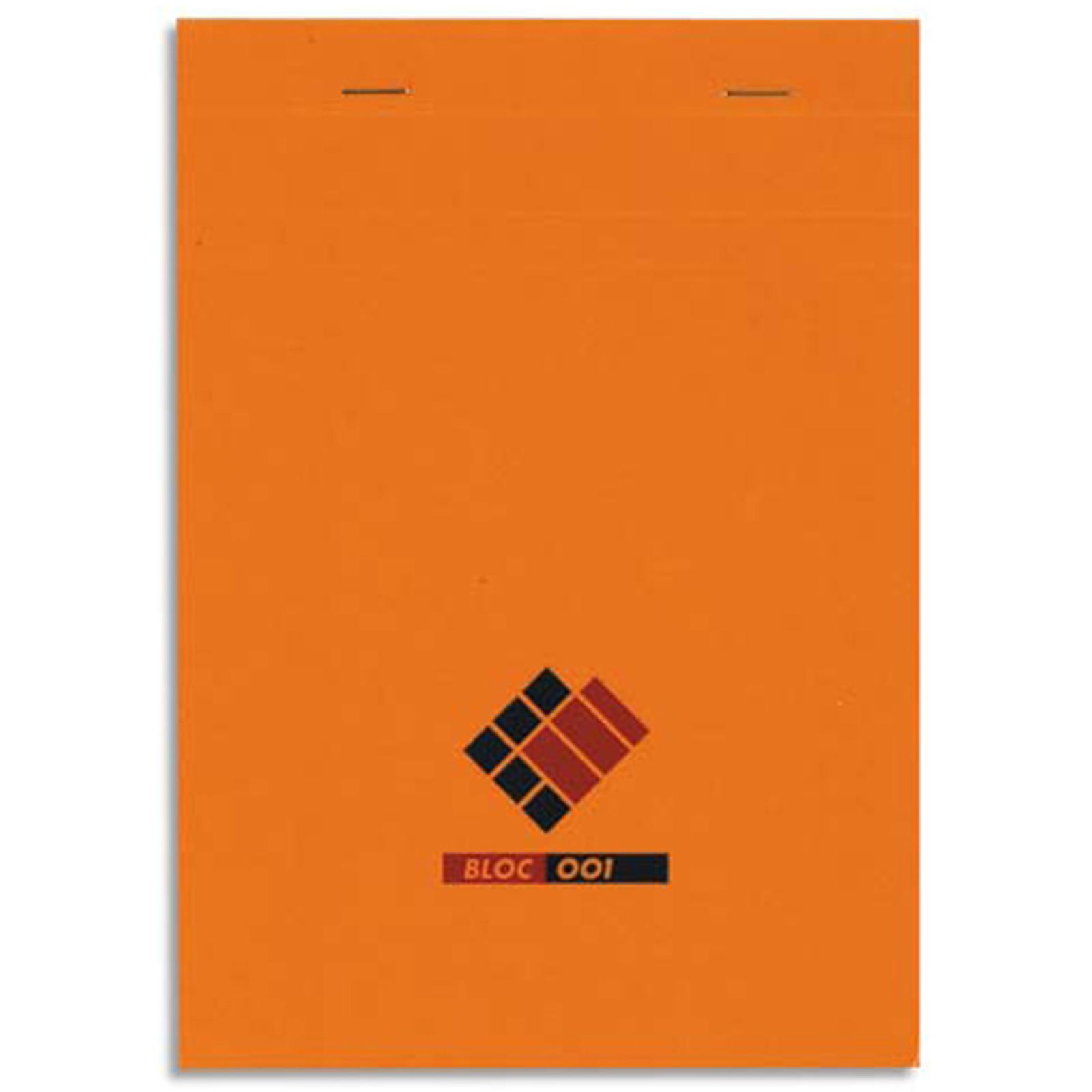 Oxford Bloc 001 Bloc notes 200 pages 210 x 297 mm petits carreaux 70 g