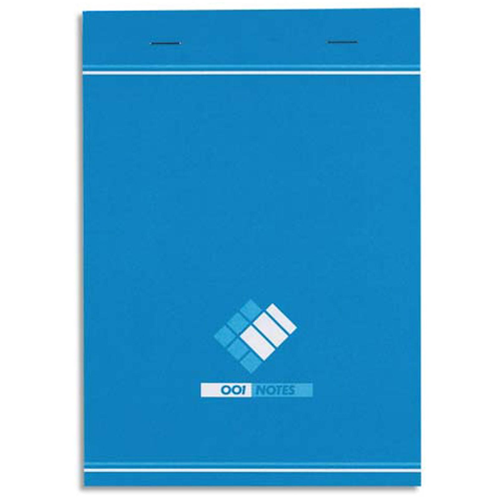 Oxford Bloc 001 Bloc notes 200 pages 148 x 210 mm petits carreaux 60g