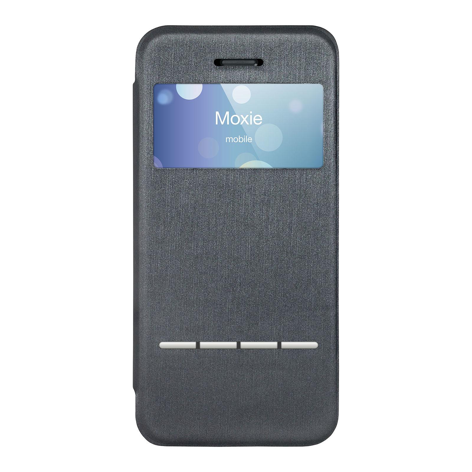 Moxie Folio Smart Touch Gris pour iPhone 5/5s