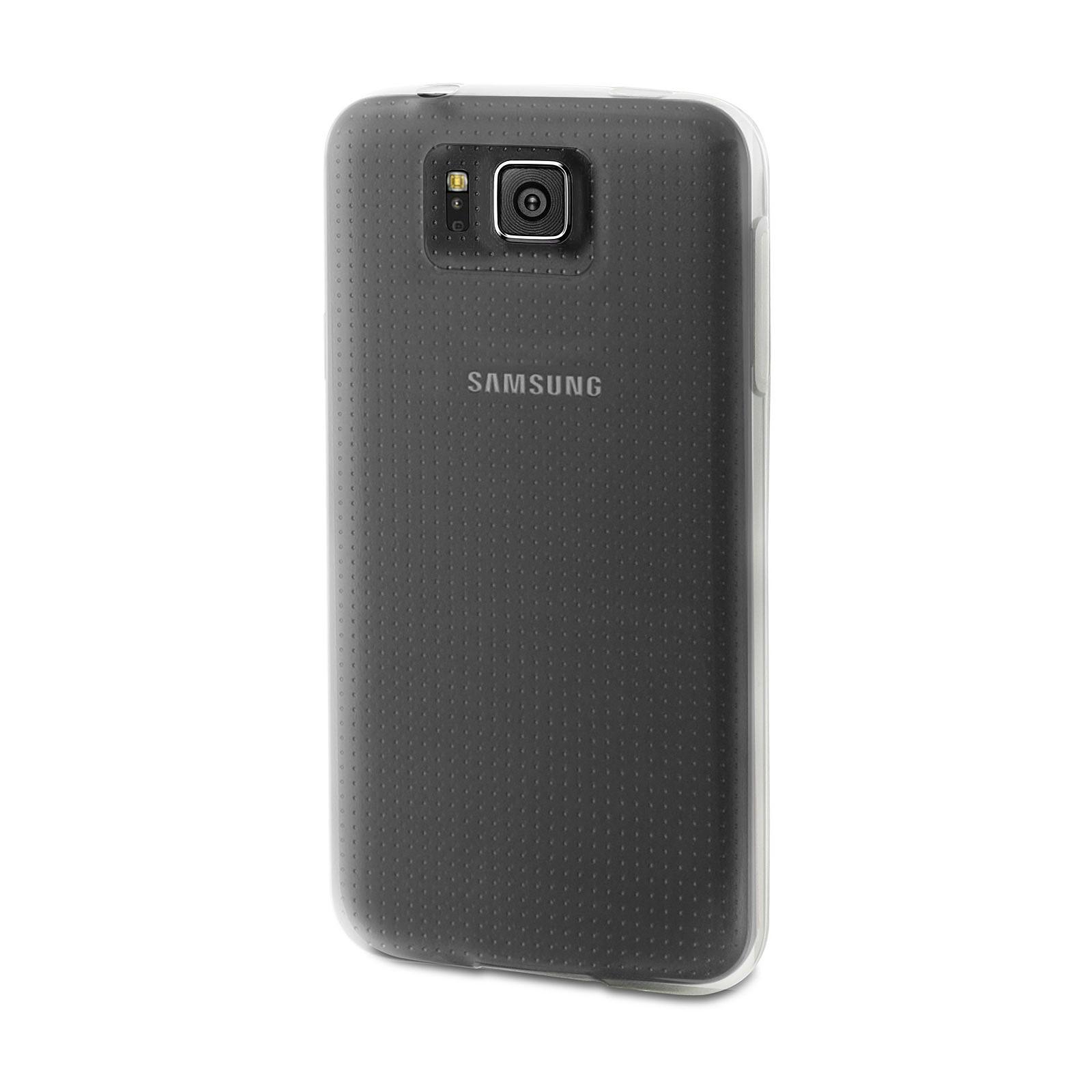 Muvit Housse minigel Glossy Transparente Samsung Galaxy Alpha
