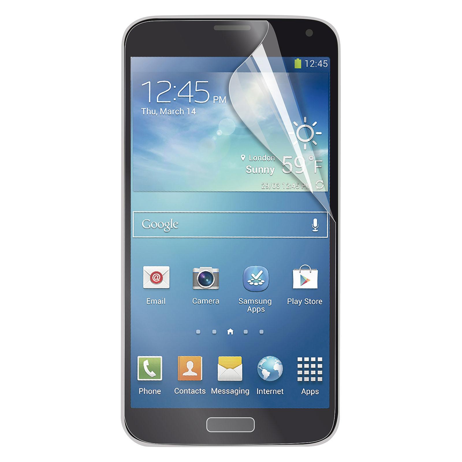 Muvit 2 Films de protection 1 Glossy et 1 Mat pour Samsung Galaxy Alpha