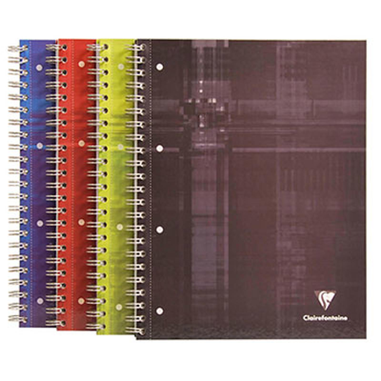 Clairefontaine Cuaderno Bind'O Block A4 160 páginas cuadrados pequeños