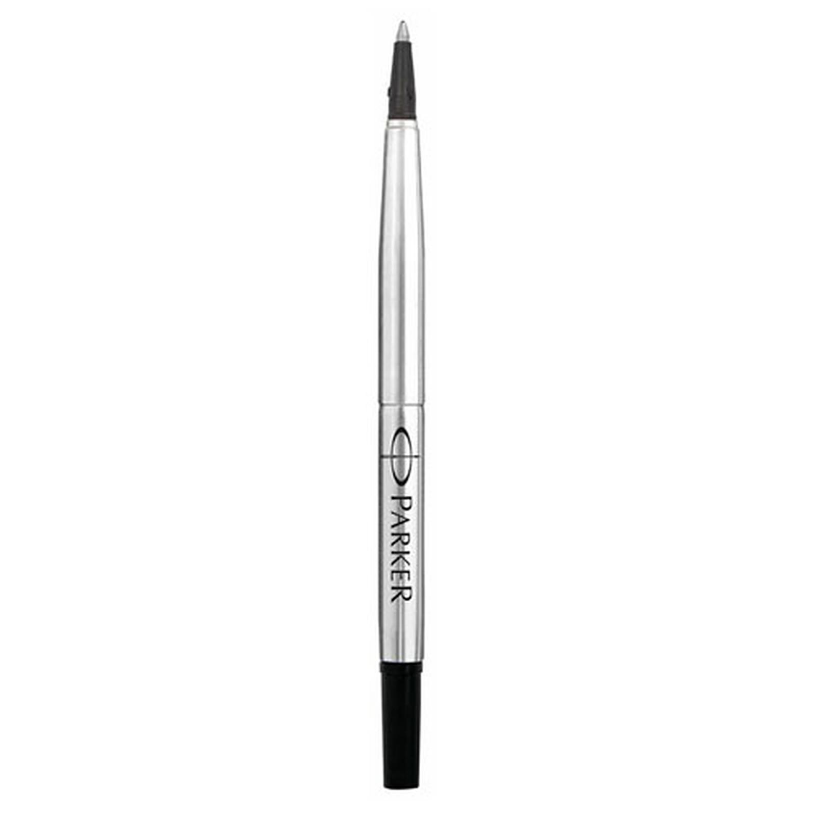 parker recharge stylo roller pointe moyenne noire stylo feutre parker sur. Black Bedroom Furniture Sets. Home Design Ideas