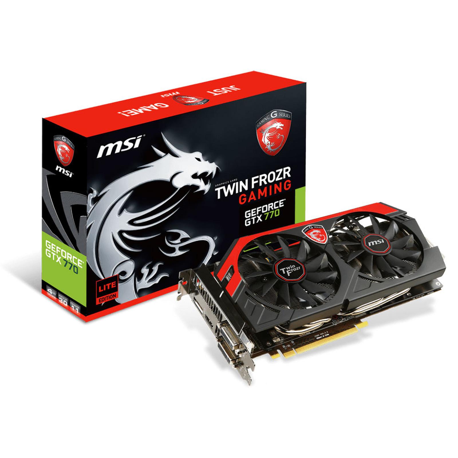 MSI GeForce GTX 770 Twin Frozr GAMING 2GB