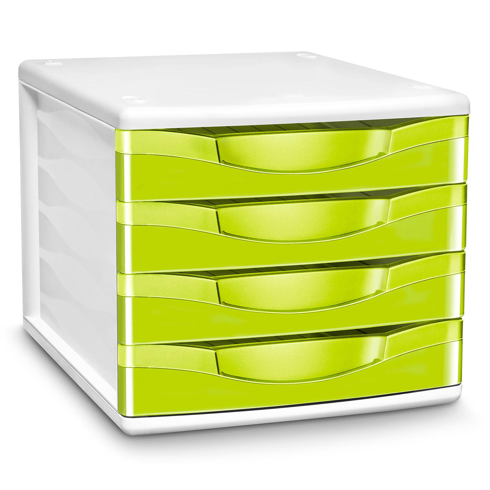 CEP Module de classement 4 tiroirs Gloss Anis 894G