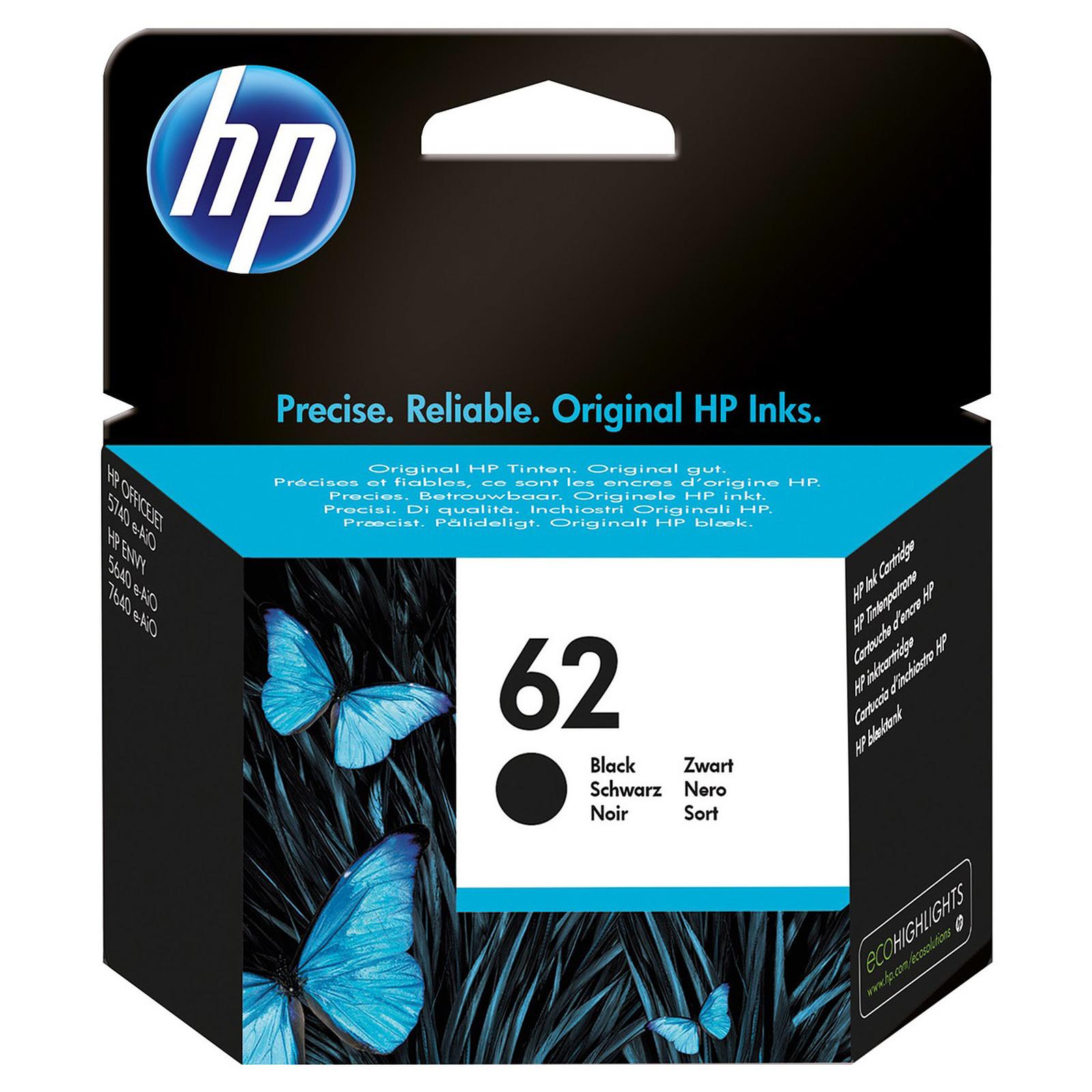 HP 62 Noir (C2P04AE)