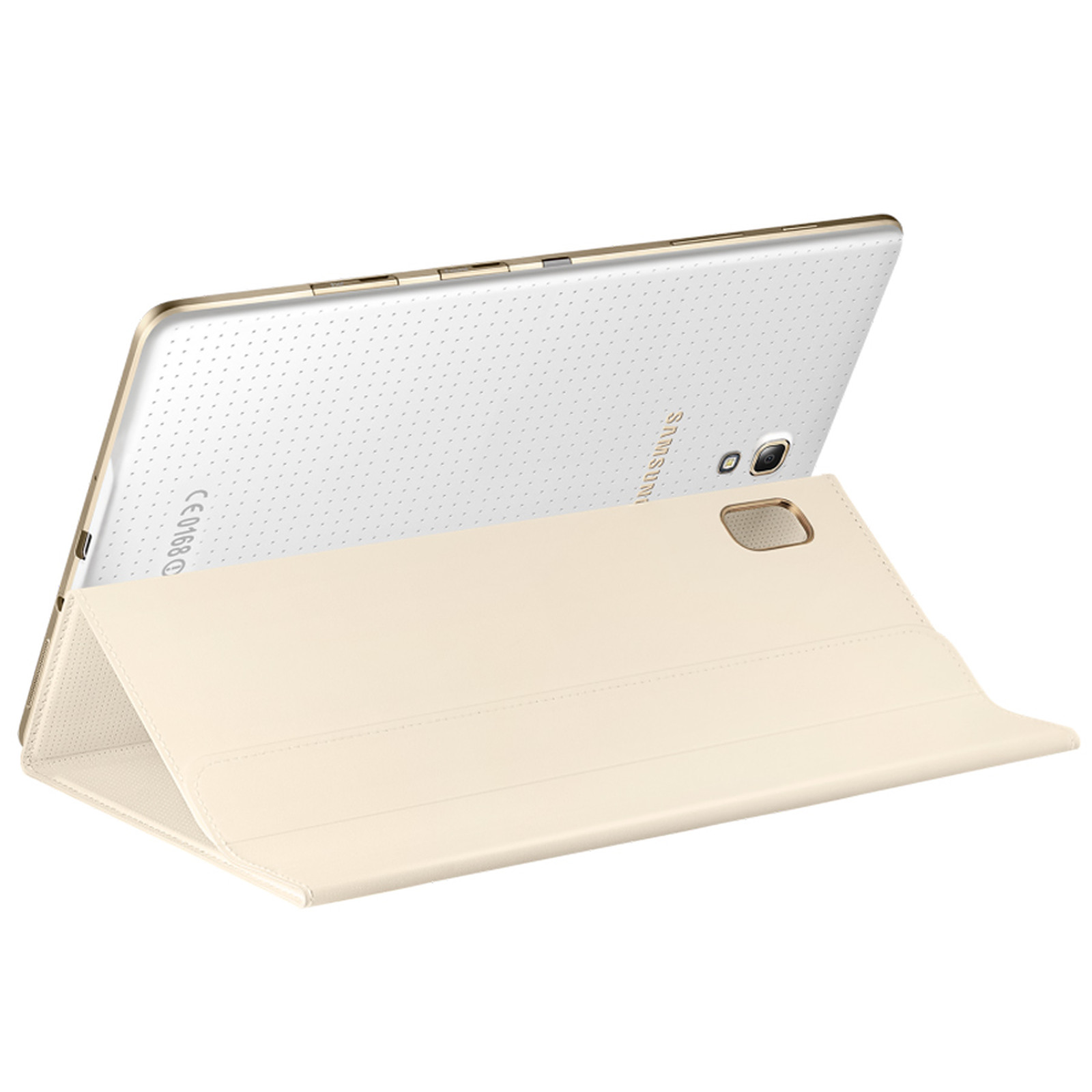 Samsung Book Cover Ef Bt700 Ivoire Pour Samsung Galaxy