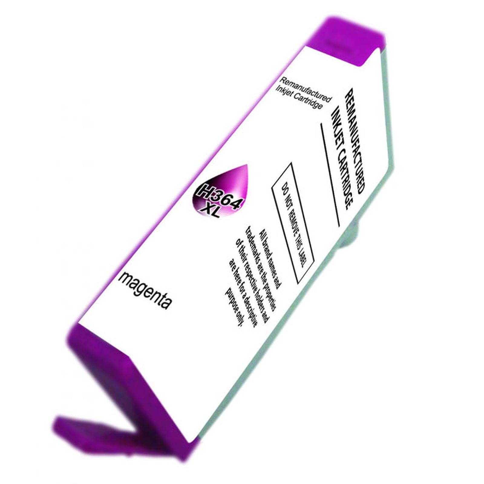 Cartouche compatible 364 XL CB324EE (Magenta)