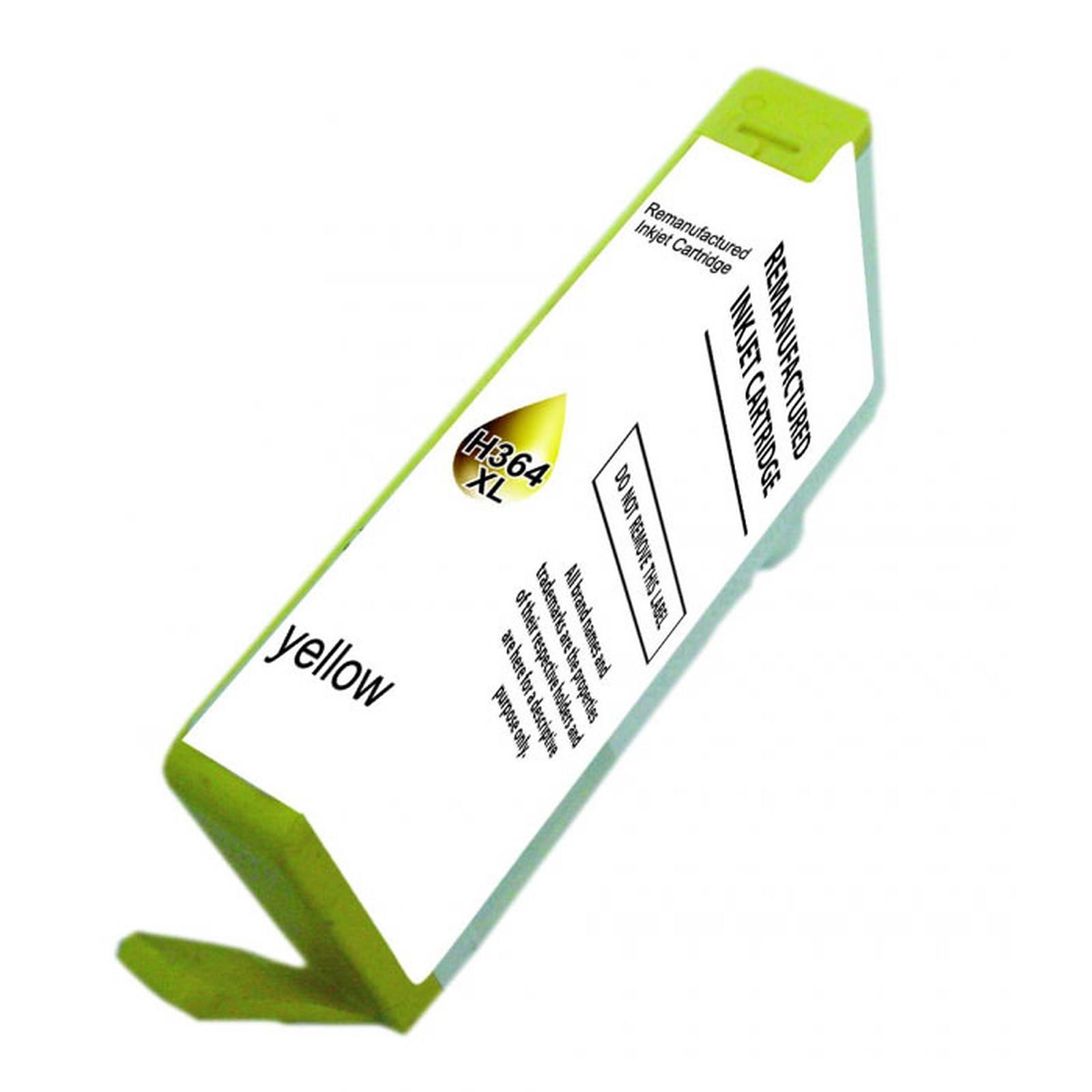 Cartouche compatible 364 XL CB325EE (Jaune)