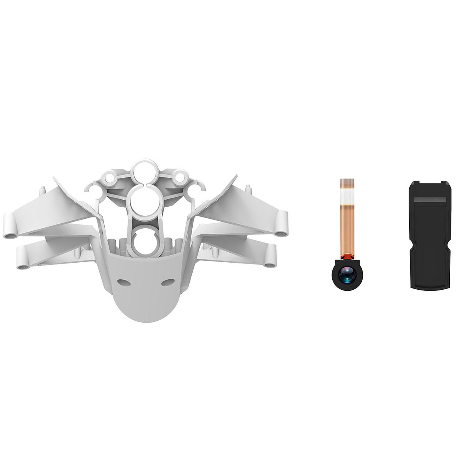 Parrot Caméra et structure pour MiniDrone Jumping Sumo Blanc