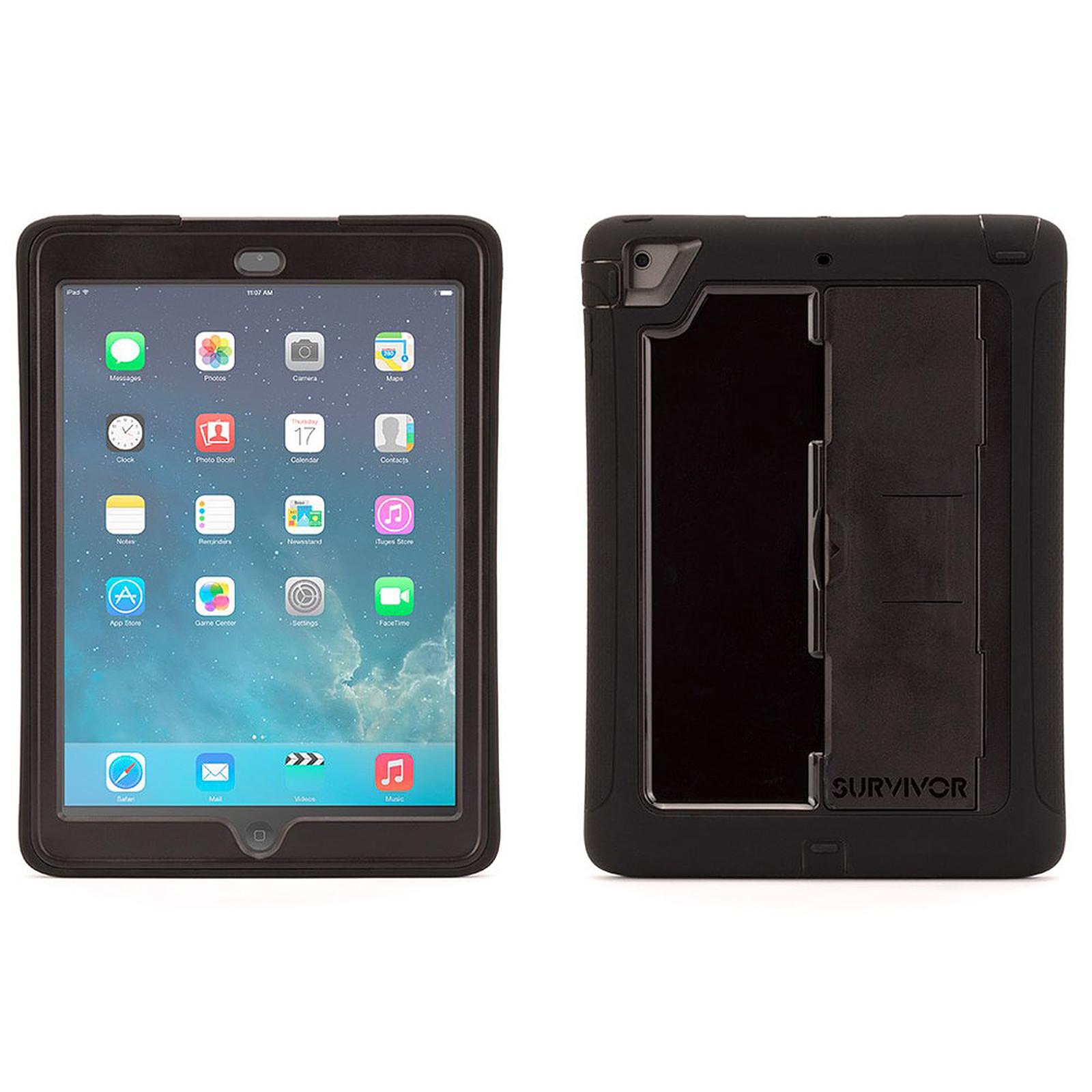 Griffin Survivor for iPad Air Noir/Noir