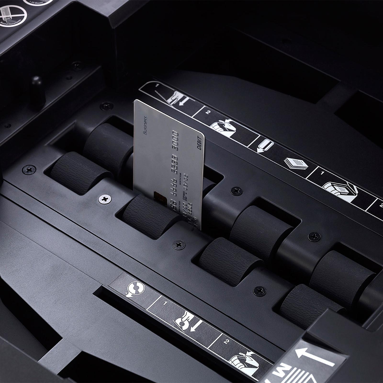 Destructeur de Documents Automatique Coupe Crois/ée S/écurit/é P4 Rexel 2020300X Auto+ 300X Roulettes Pivotantes Corbeille 60 litres Amovible Capacit/é 300 Feuilles