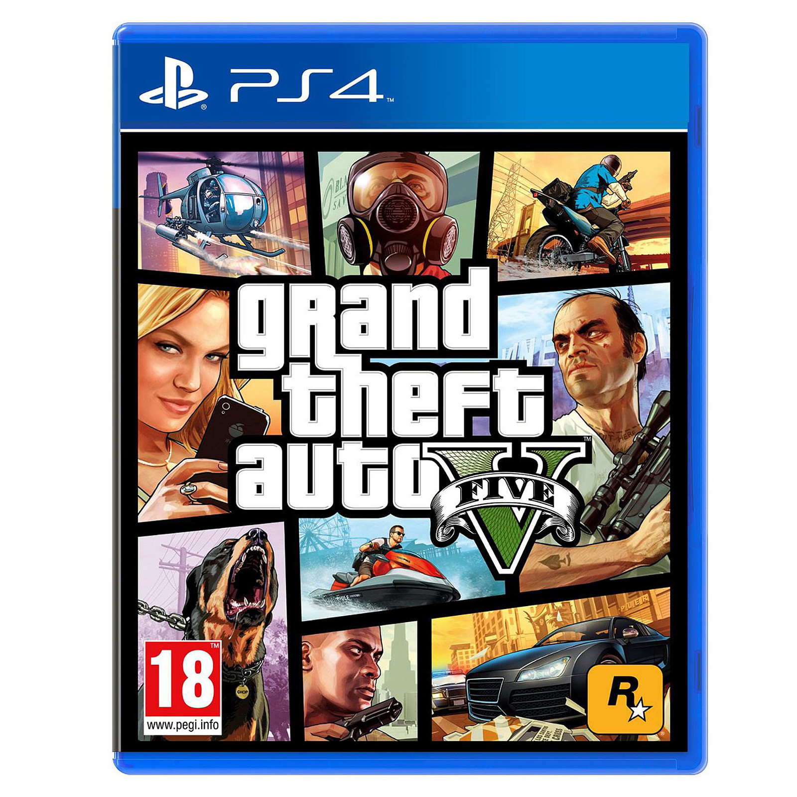 34965fde836 Grand Theft Auto V - GTA 5 (PS4) - Jeux PS4 Take-Two sur LDLC.com