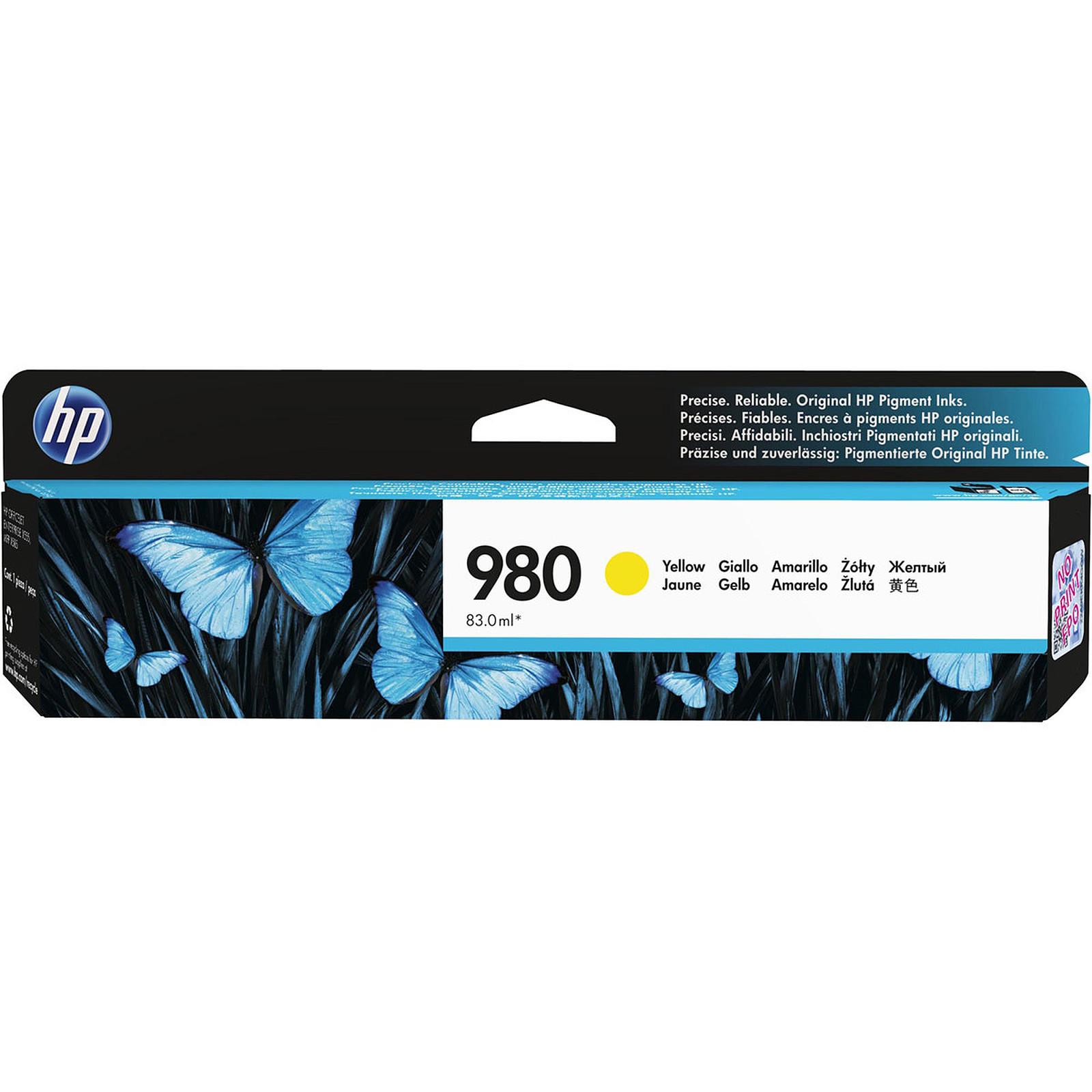 HP 980 Jaune (D8J09A)