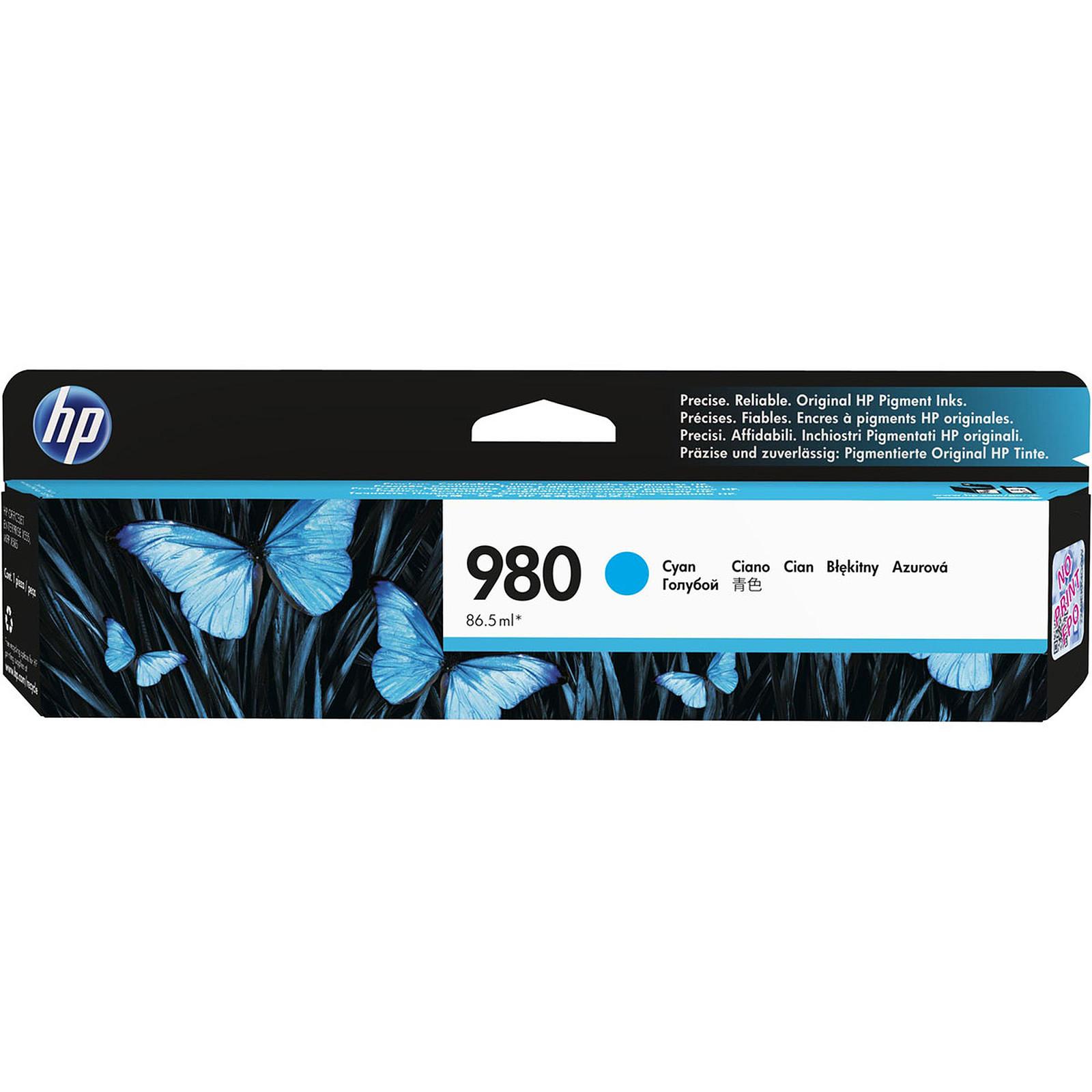 HP 980 Cyan (D8J07A)