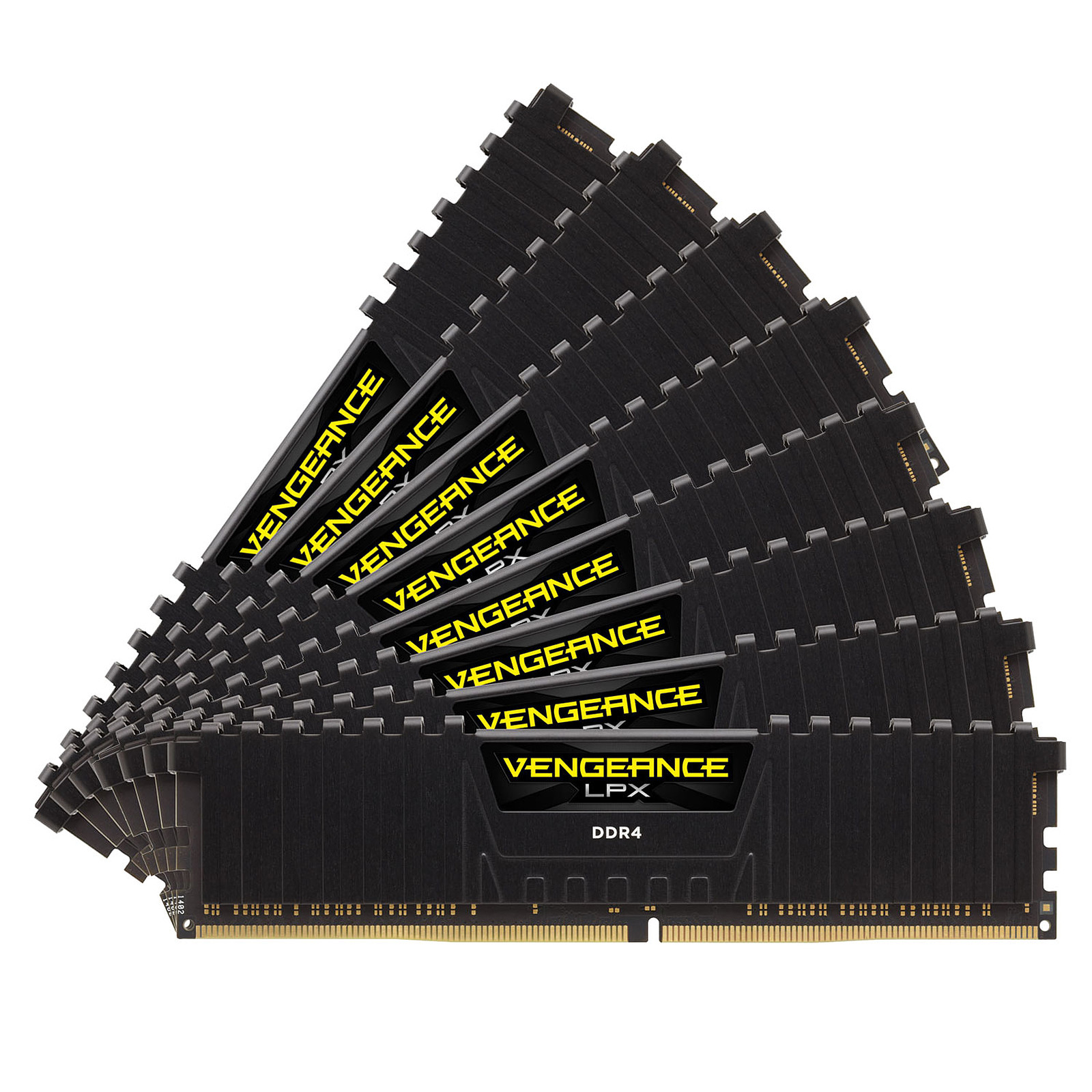 Corsair Vengeance LPX Series Low Profile 128 Go (8x 16 Go) DDR4 3000 MHz CL16