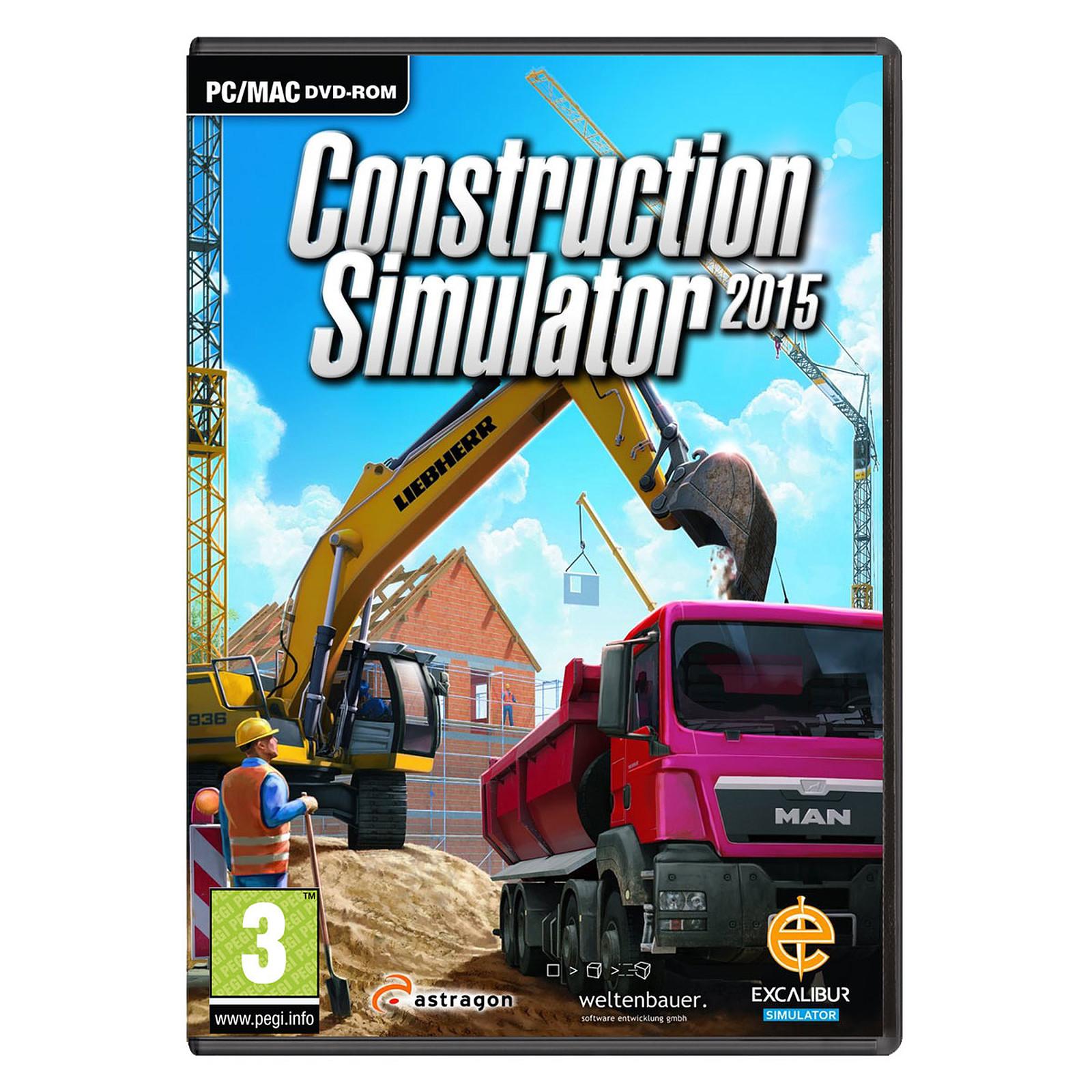 Construction Simulator 2015 (PC) - Jeux PC Astragon Software sur