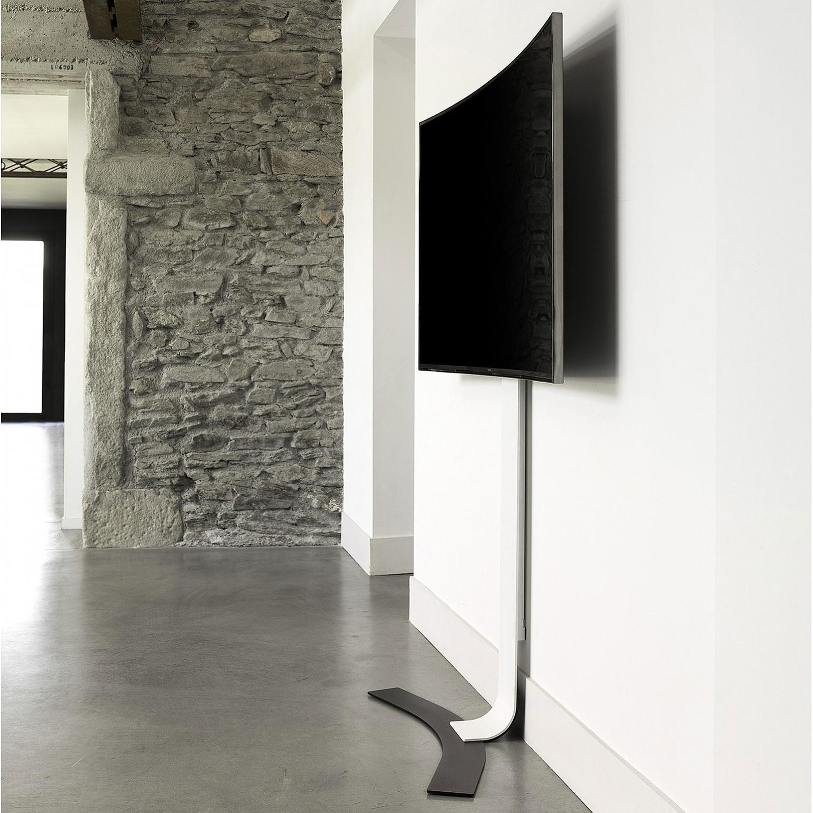 Erard Kit Pour Ecrans Incurves Support Mural Tv Erard