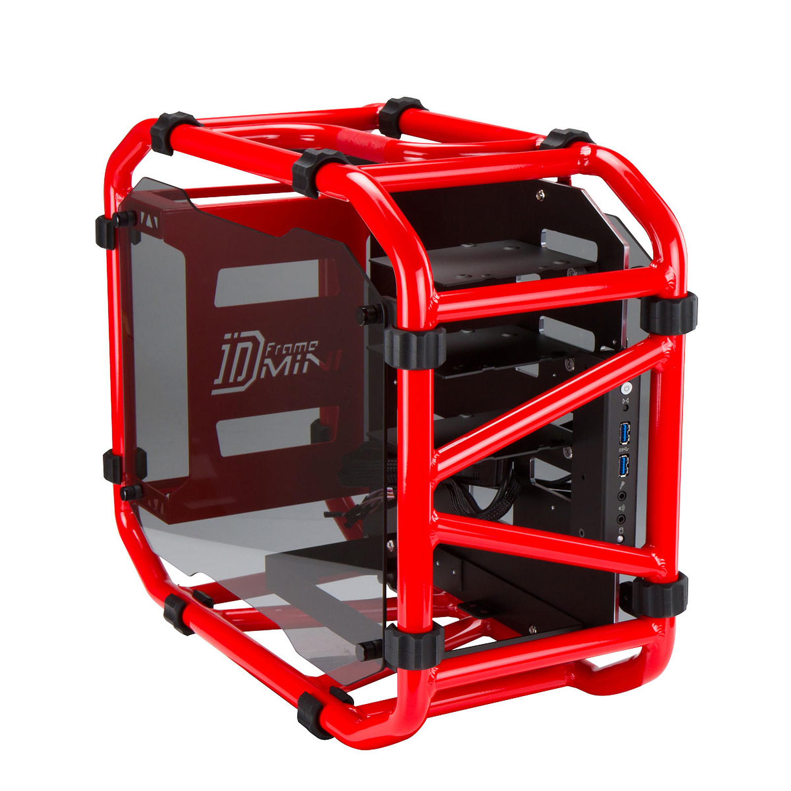 IN WIN D-Frame Mini Rouge