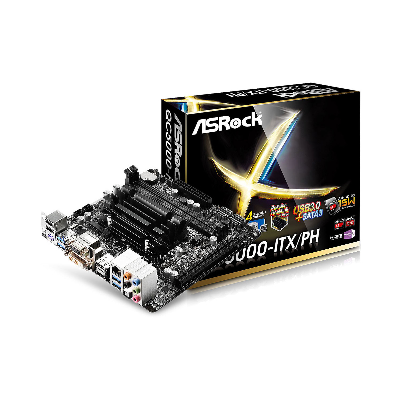 ASRock QC5000-ITX/PH