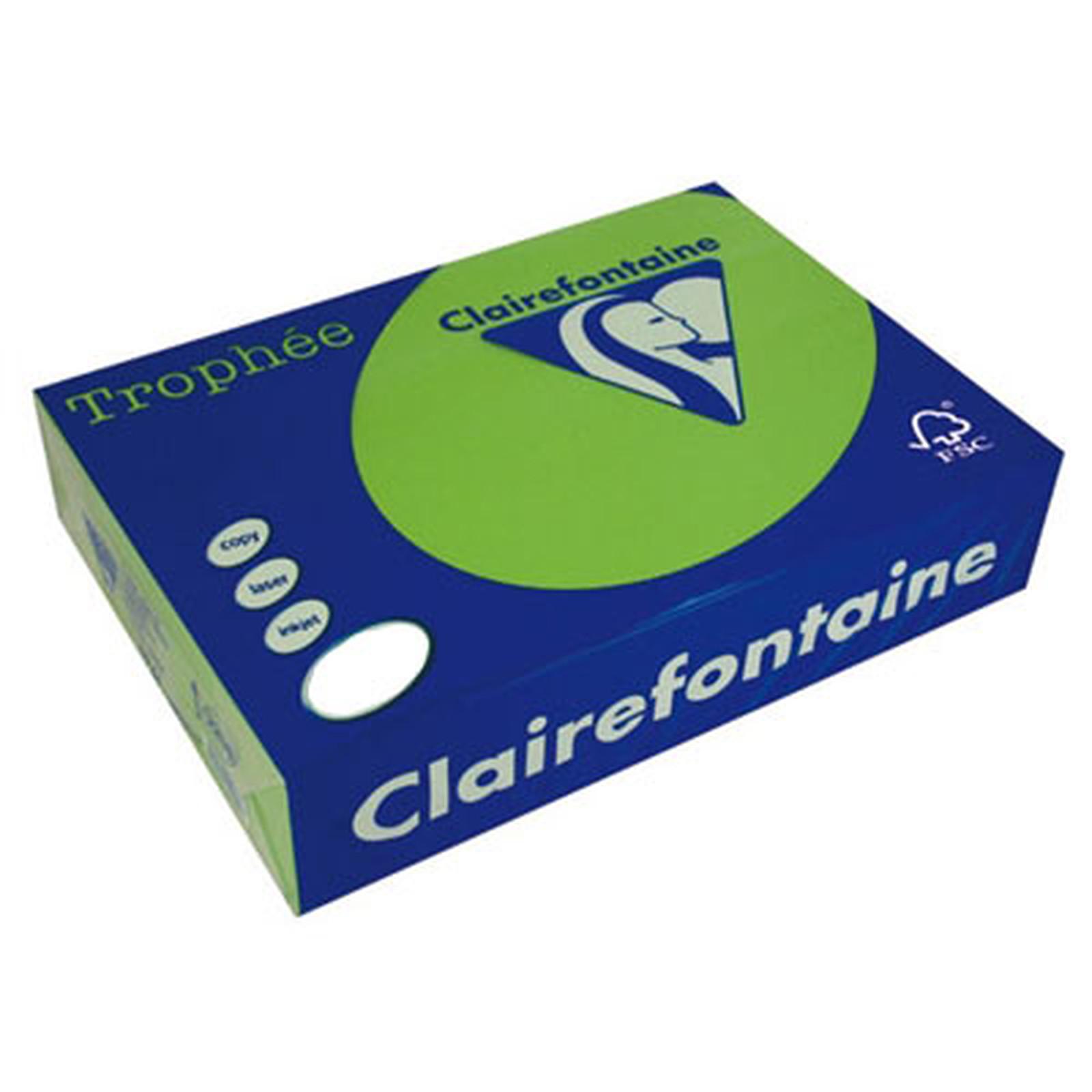 Clairefontaine Trophée Ramette de papier 250 feuilles A3 160g Vert Menthe
