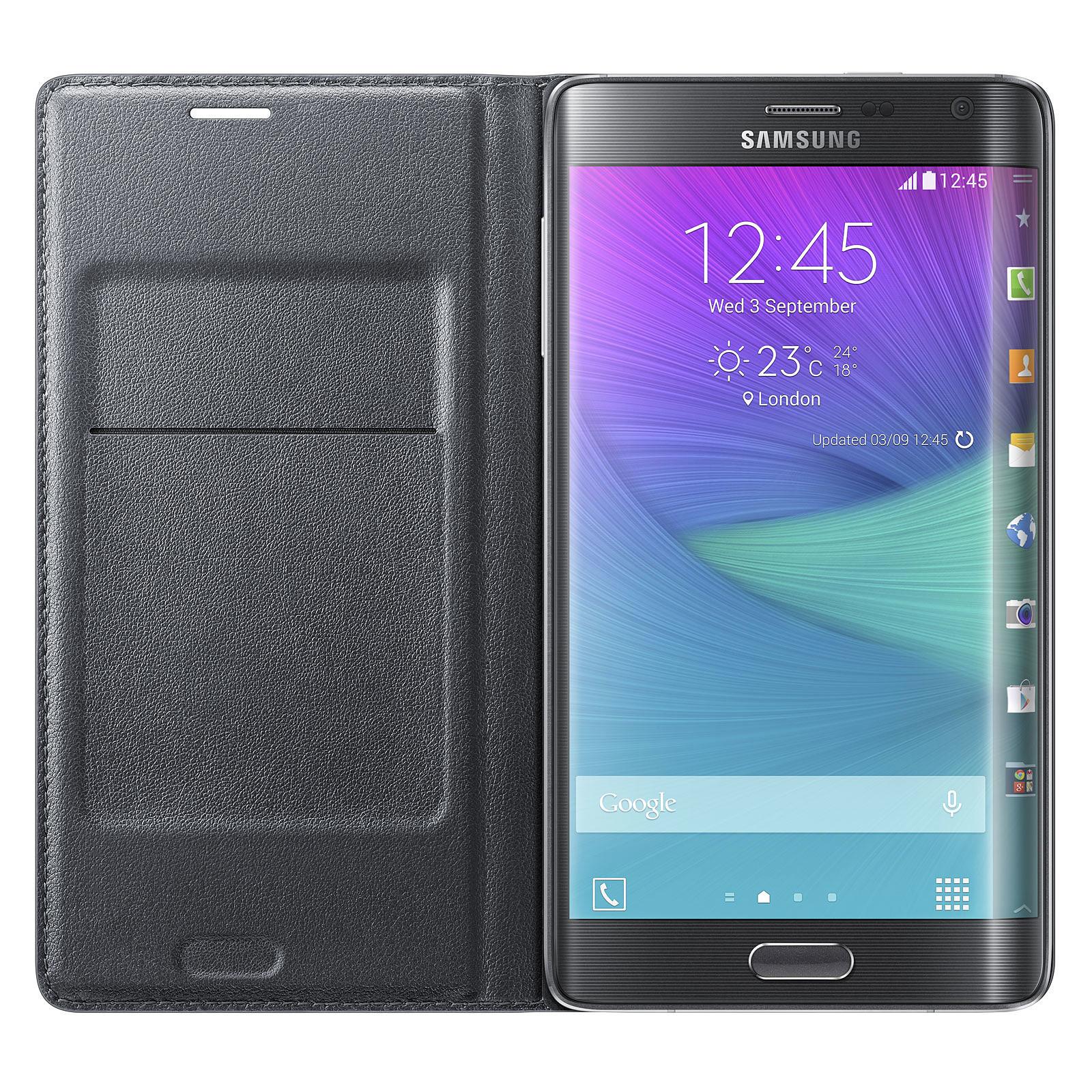 profiter du meilleur prix magasin britannique énorme inventaire Samsung Flip Wallet Noir Samsung Galaxy Note Edge - Coque ...