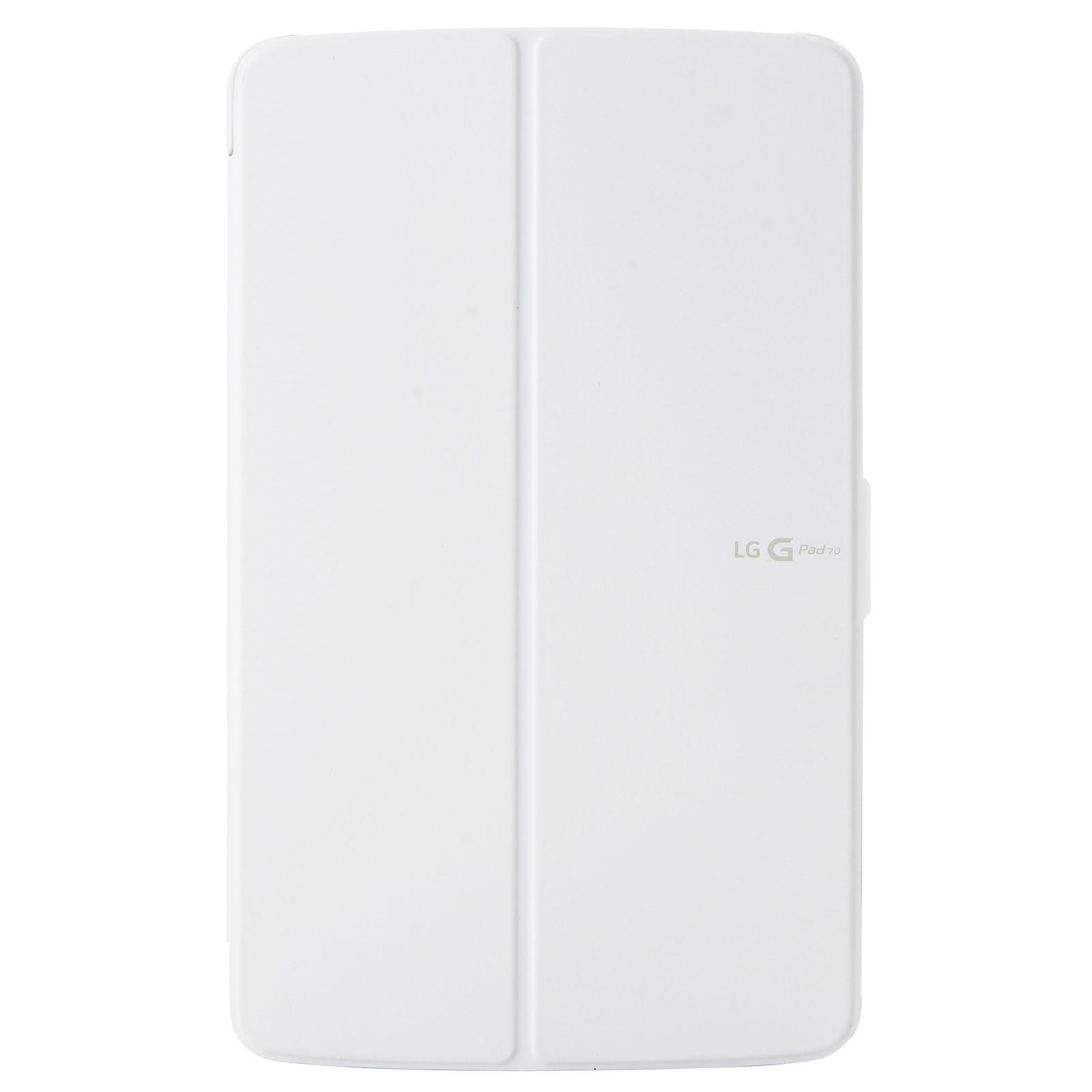 "LG Quick Cover Folio Case Blanc pour LG G Pad 7"""