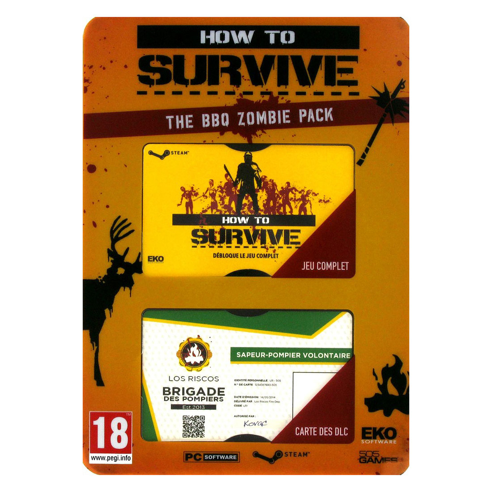 How to Survive : The BBQ Zombie Pack (PC)