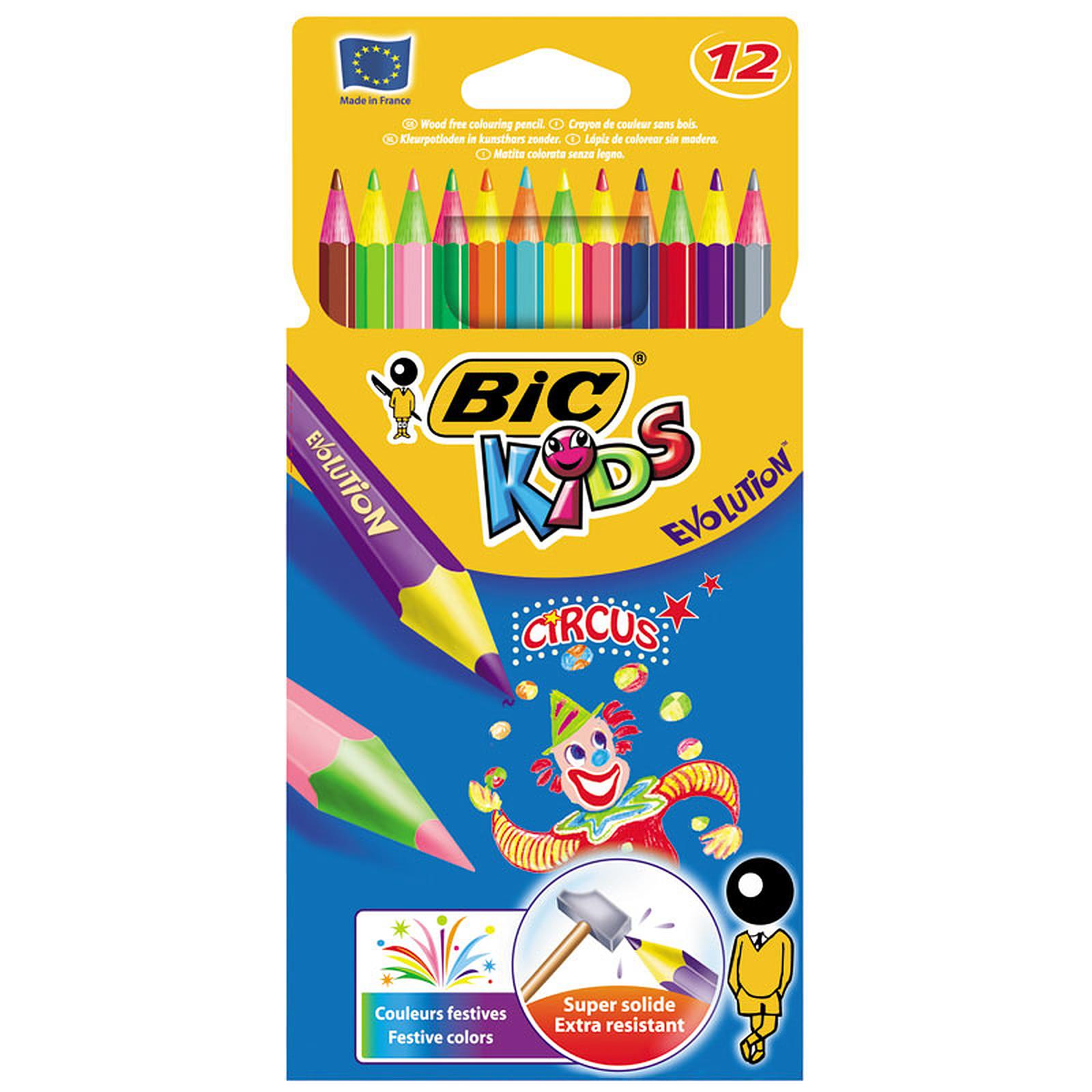 BIC KIDS Evolution boite de 12