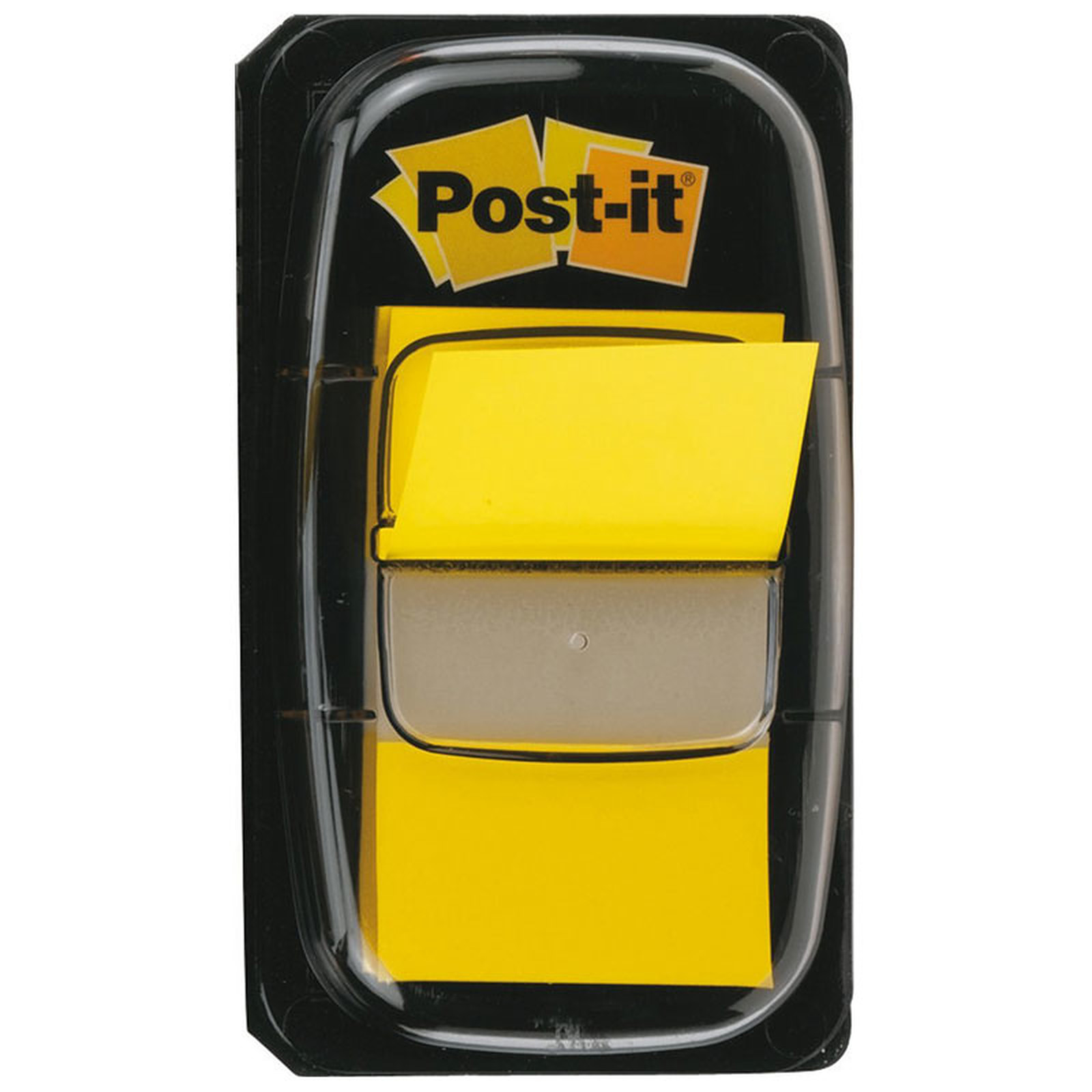Post-it  50 Marque-Pages Format Standard 25.4 x 44 mm Jaune