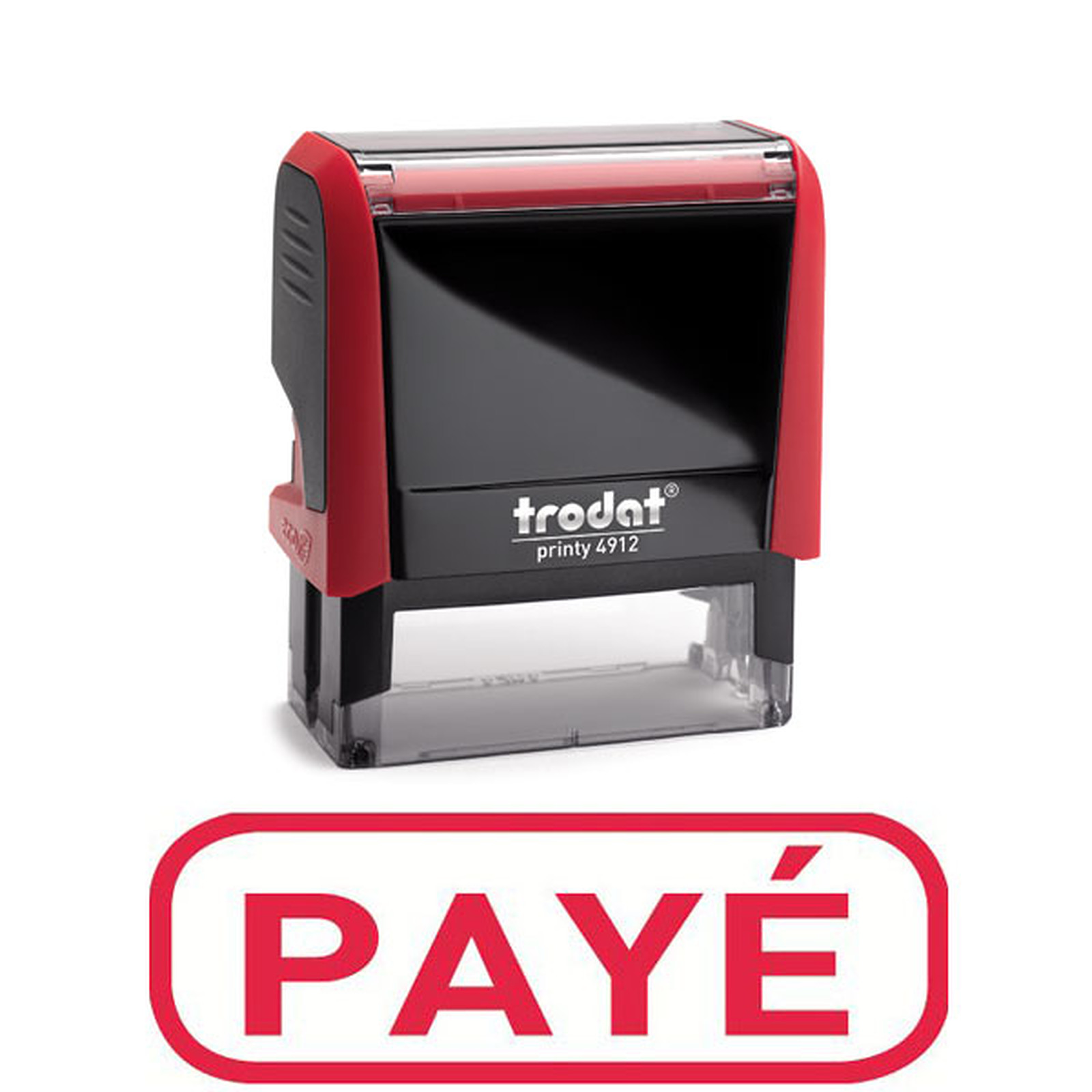 """Trodat Timbre Xprint """"PAYE"""" Rouge"""