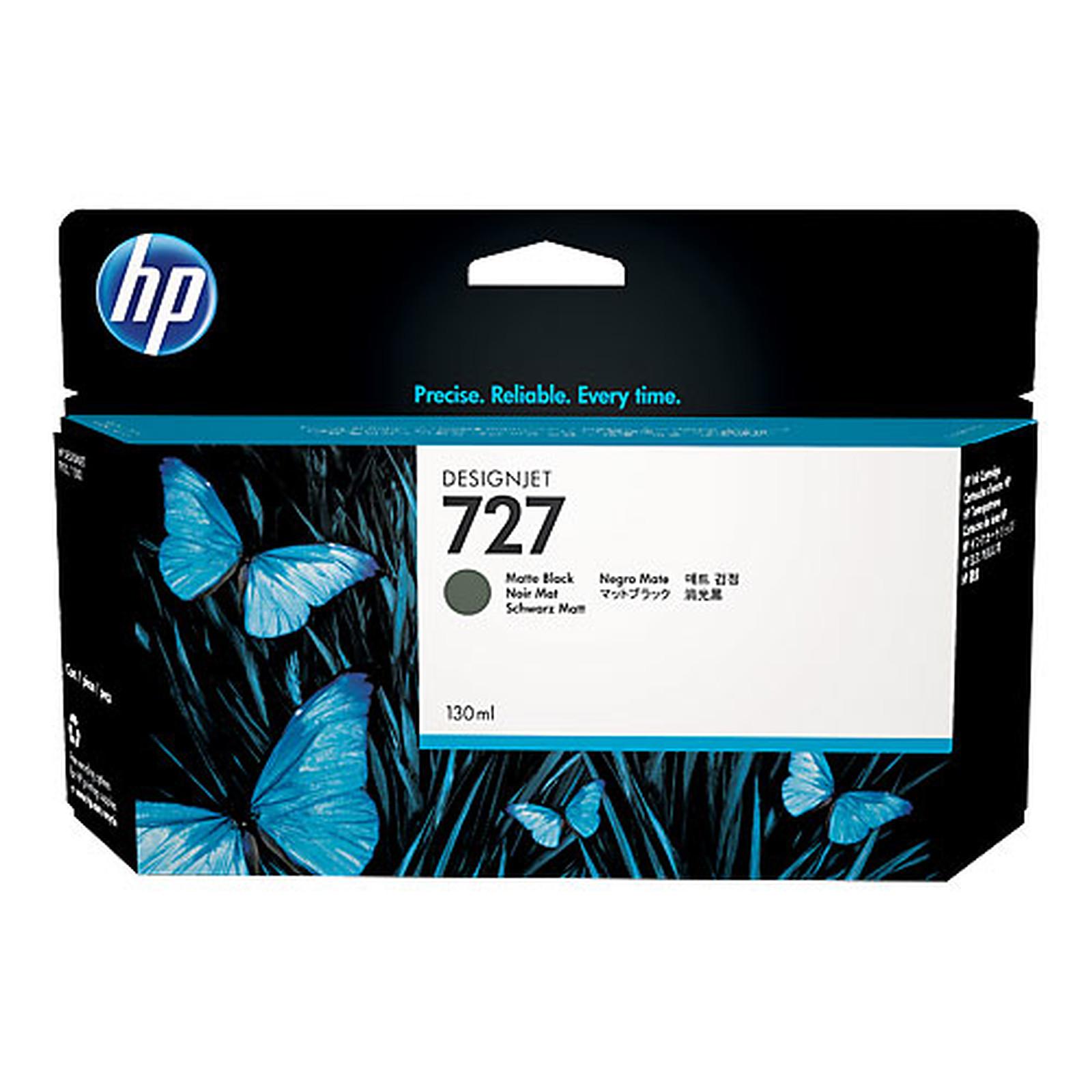 HP 727 Designjet 130 ml - Noir Mat