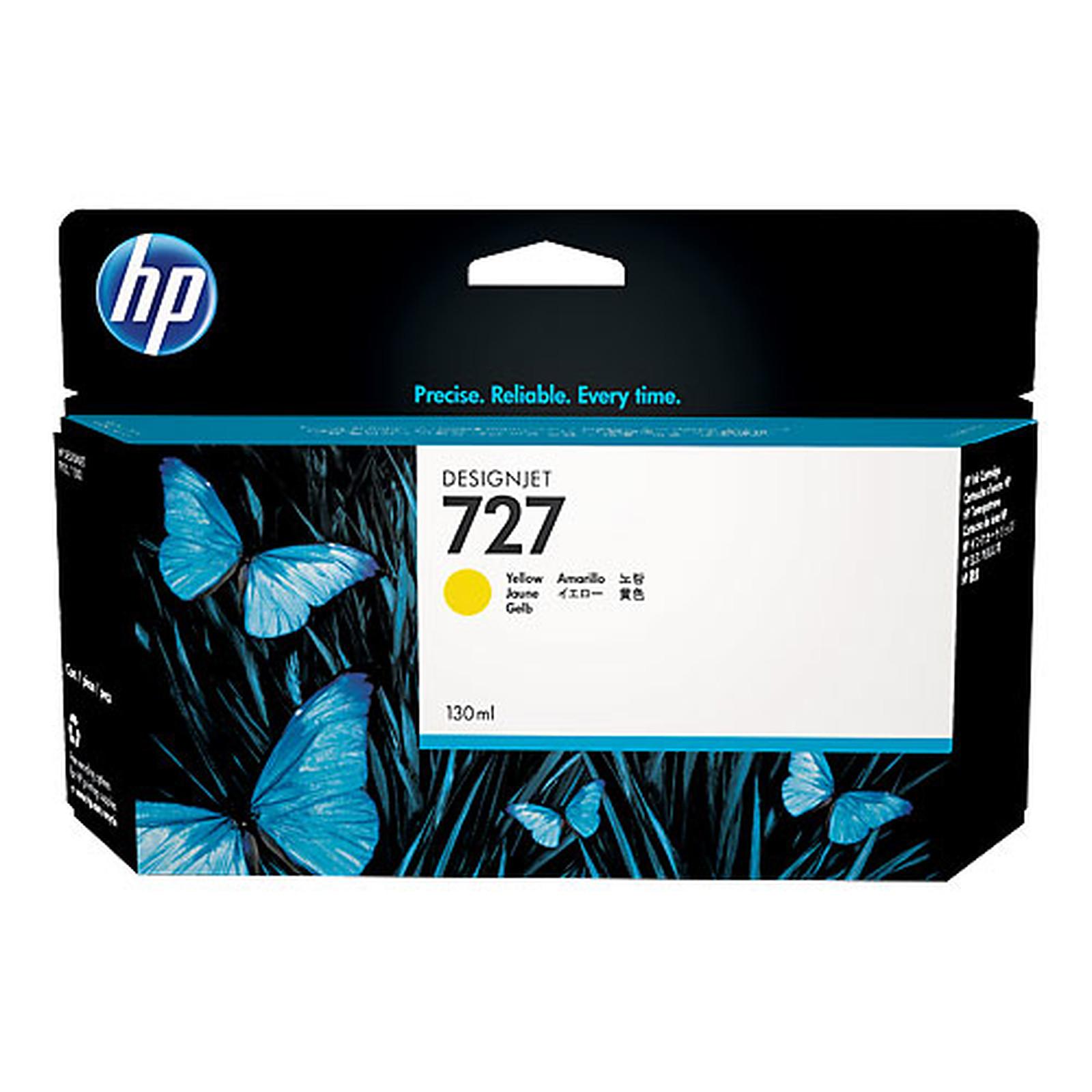 HP 727 Designjet 130 ml - Jaune