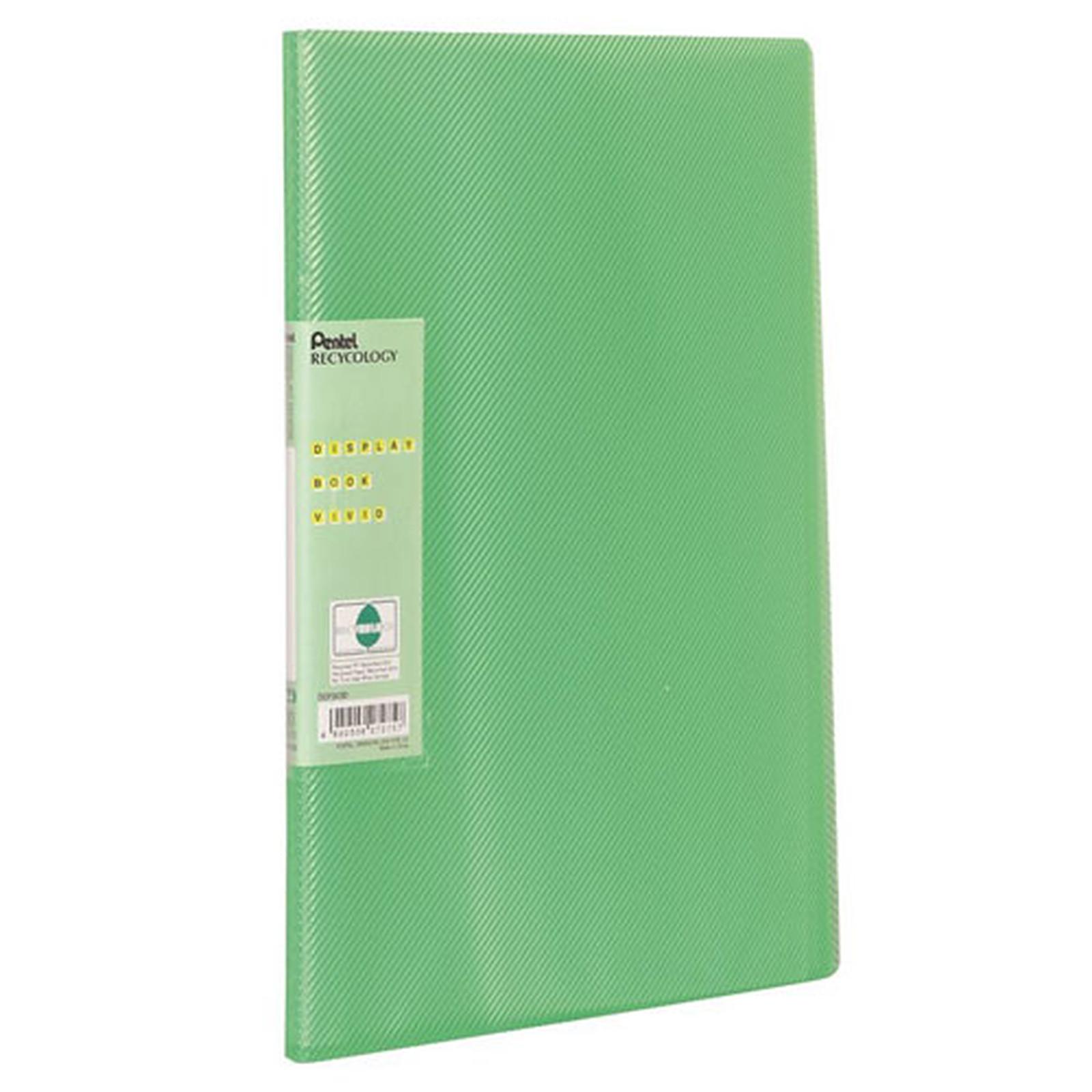 Pentel Protege document A4 60 vues Vert