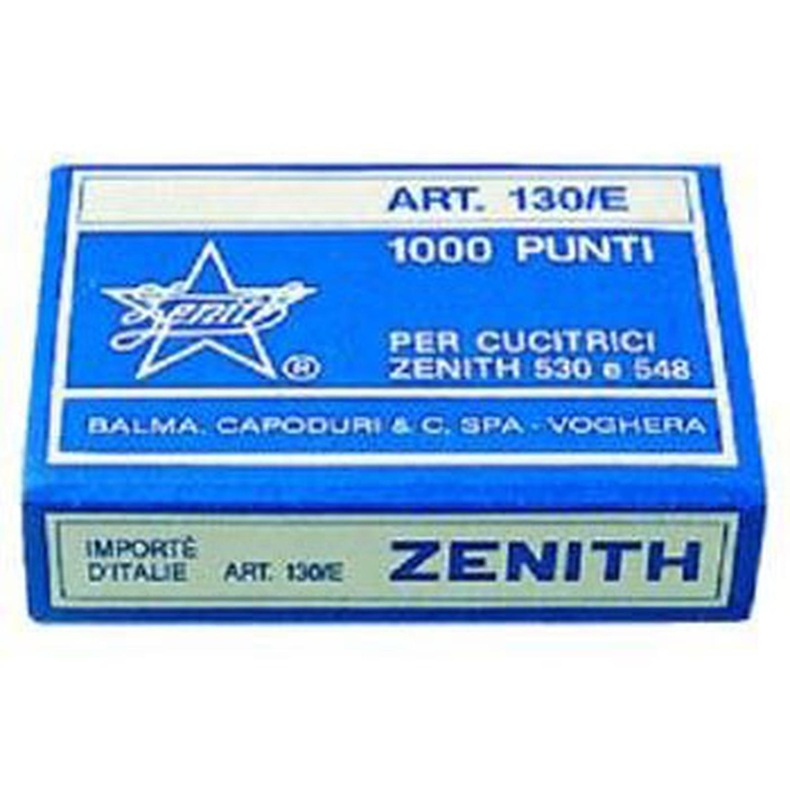 ZENITH 130/E boite de 1000 agrafes