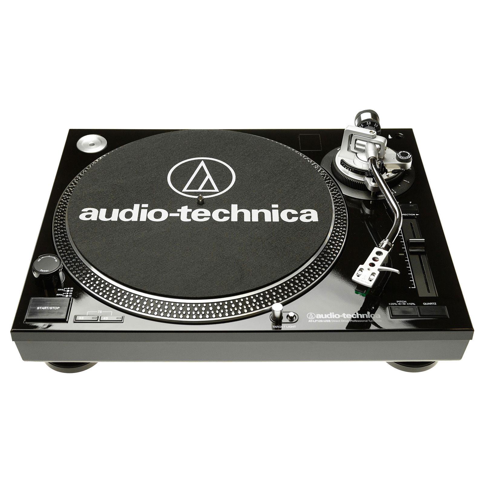 Audio-Technica AT-LP120USBC Noir