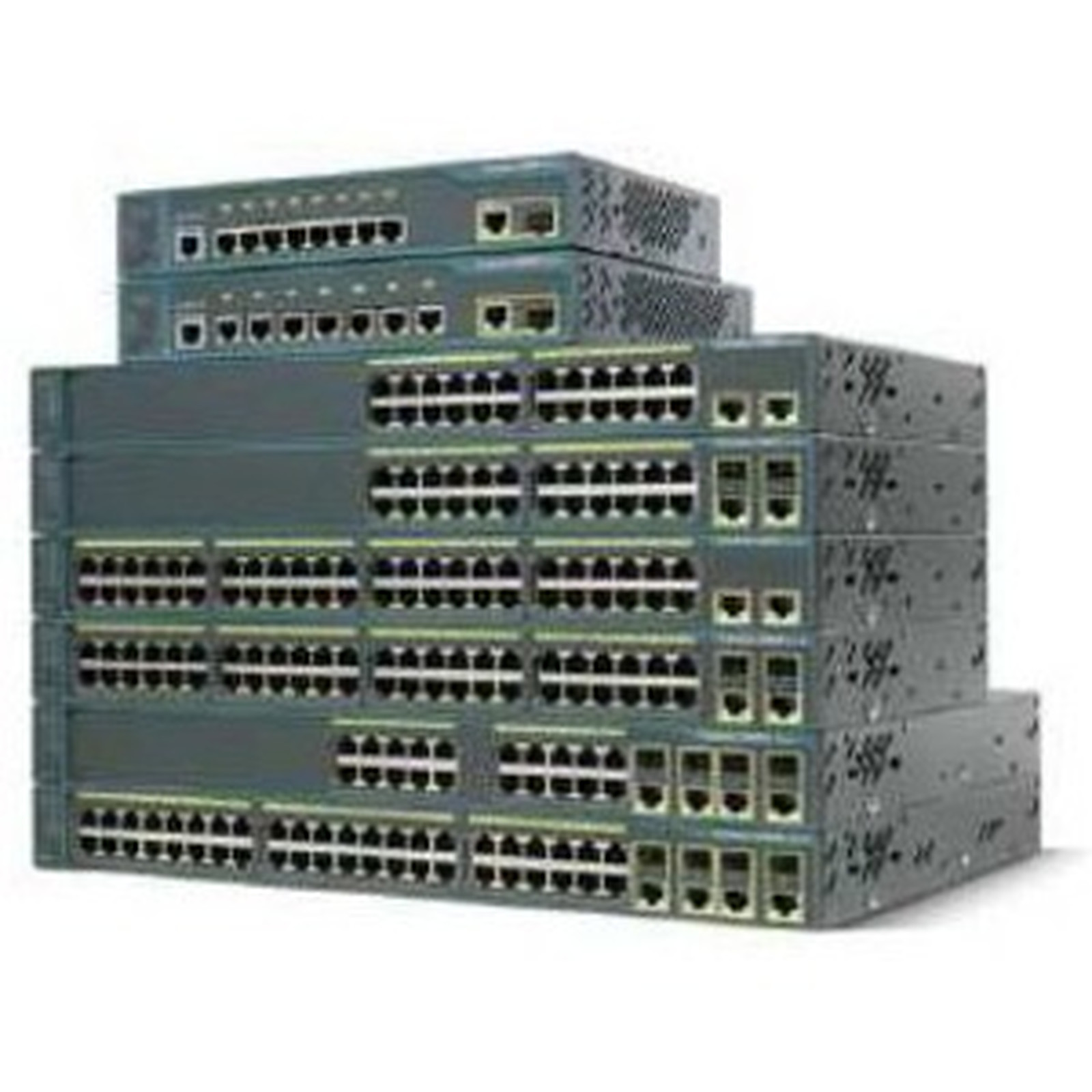 Cisco Catalyst 2960 PLUS 48 10/100 POE+ 2 1000 BT + 2 SFP LAN Lite - WS-C2960+48PST-S