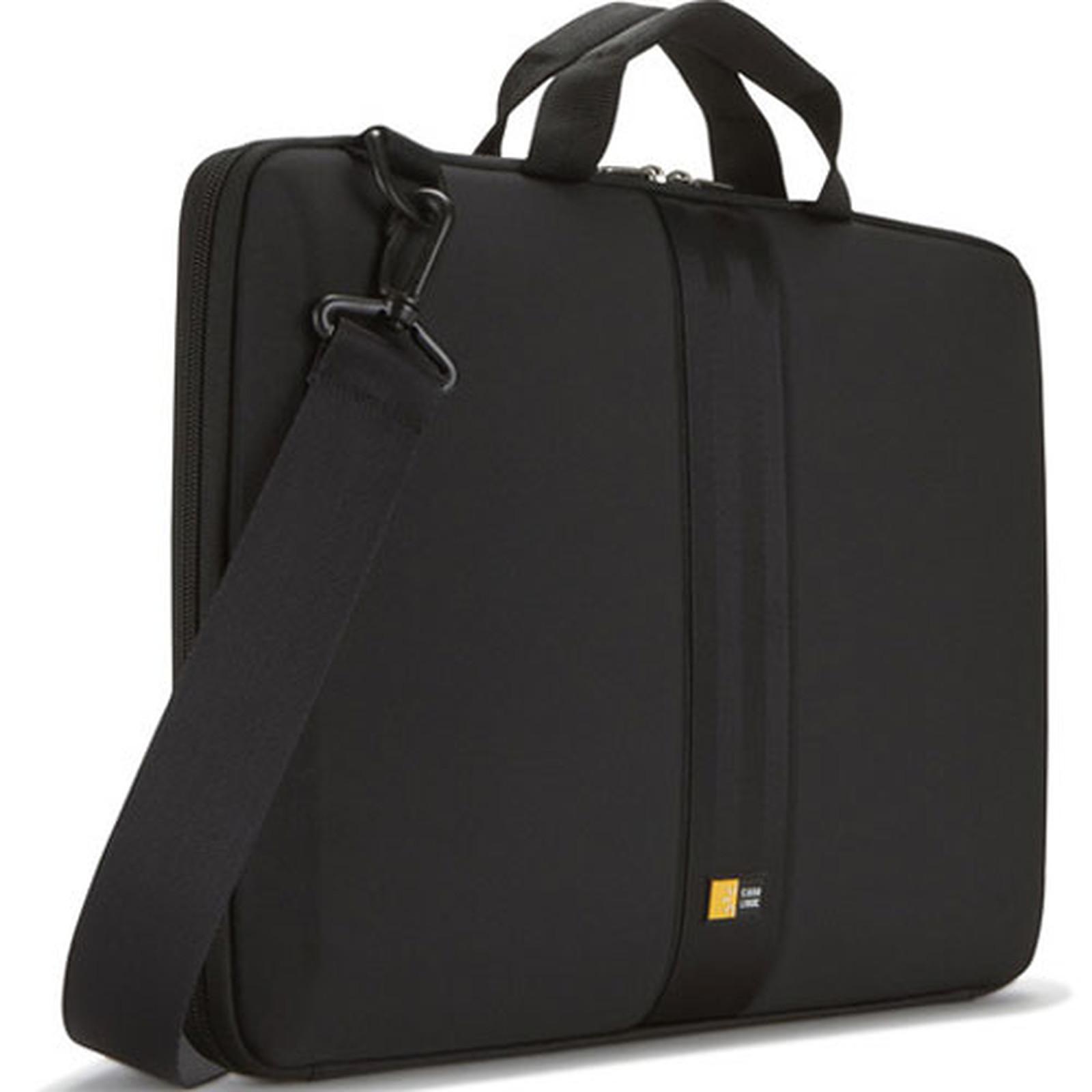 44d3d3a6d1 Case Logic QNS-116 Sacoche à coque semi-rigide et rembourrée pour  ordinateur portable ...