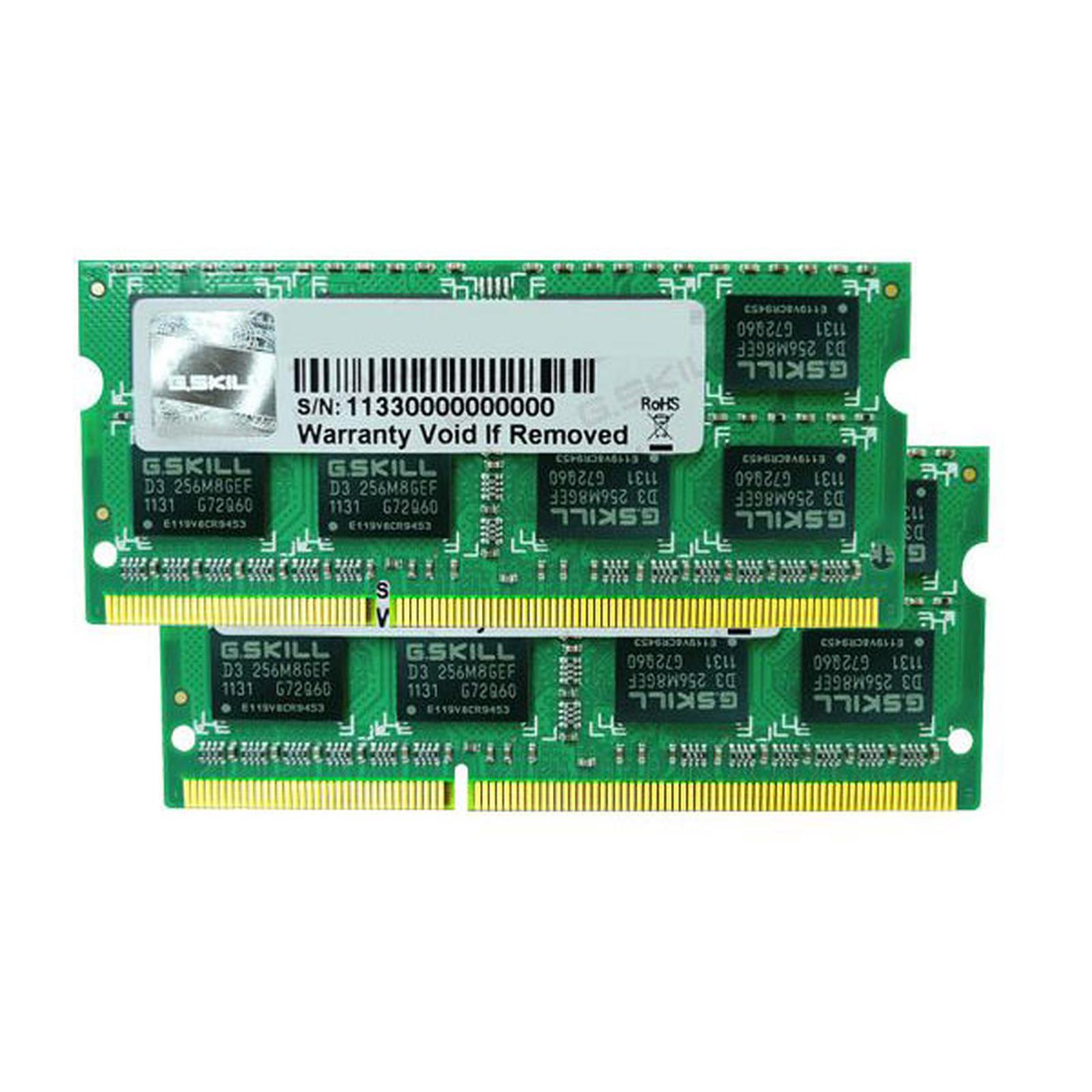 G.Skill SODIMM 8 Go (2x 4Go) DDR3 1600 MHz