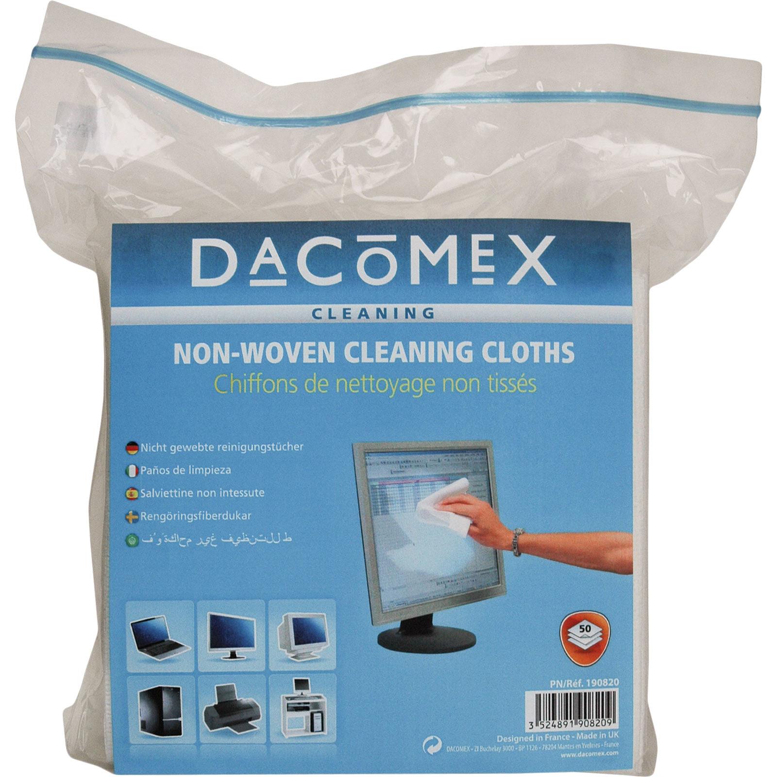 Dacomex chiffons de nettoyage doux (par 50)