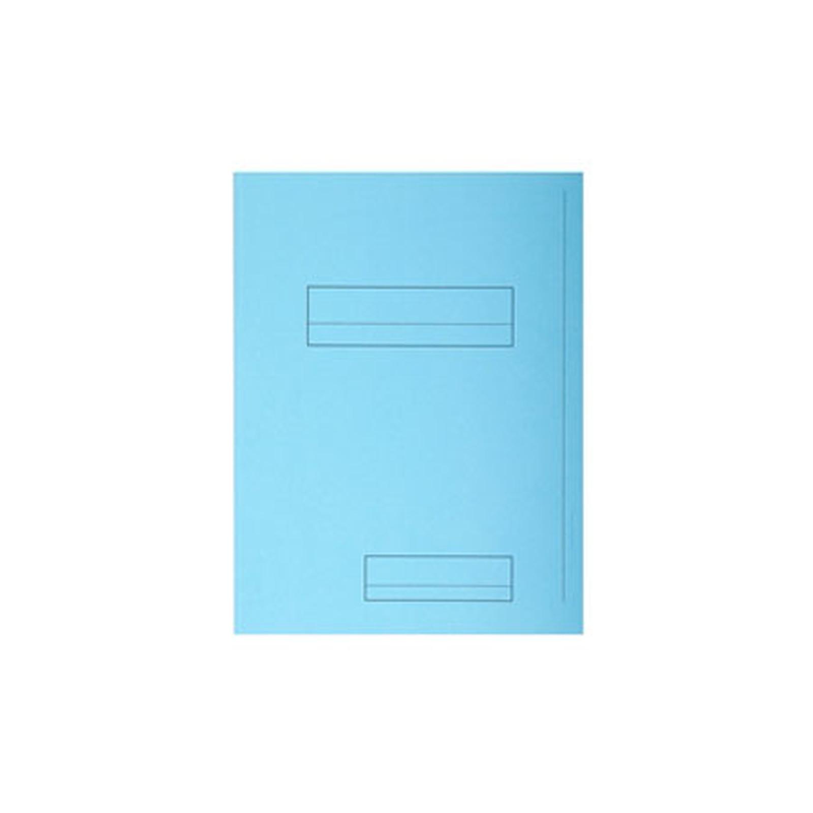 Rainex 50 Chemises à rabats latéral et pied de 10 cm semi-rigides 250 g 24 x 31.5 cm Bleu