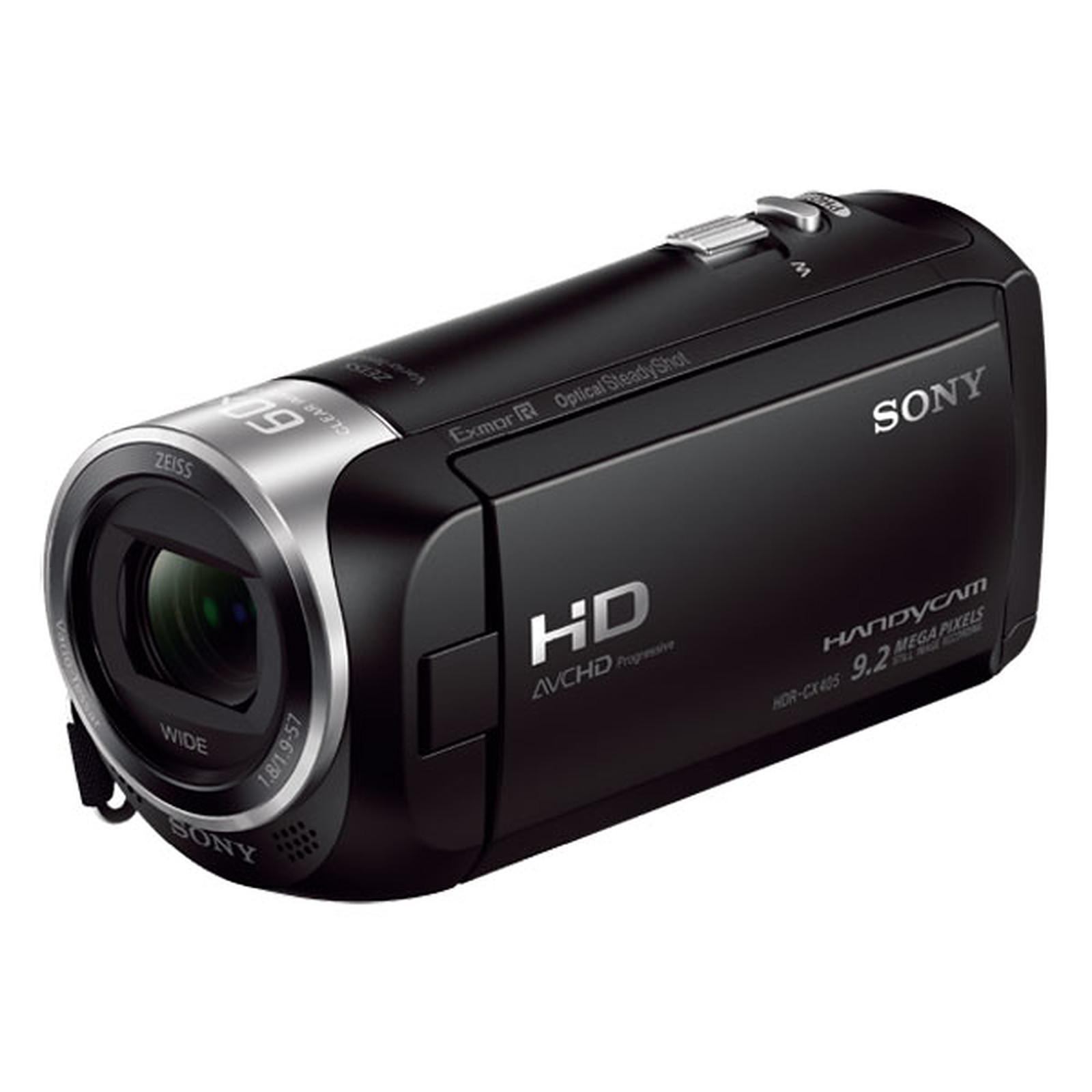 Sony HDR-CX405 Noir + Carte MicroSD 16 Go