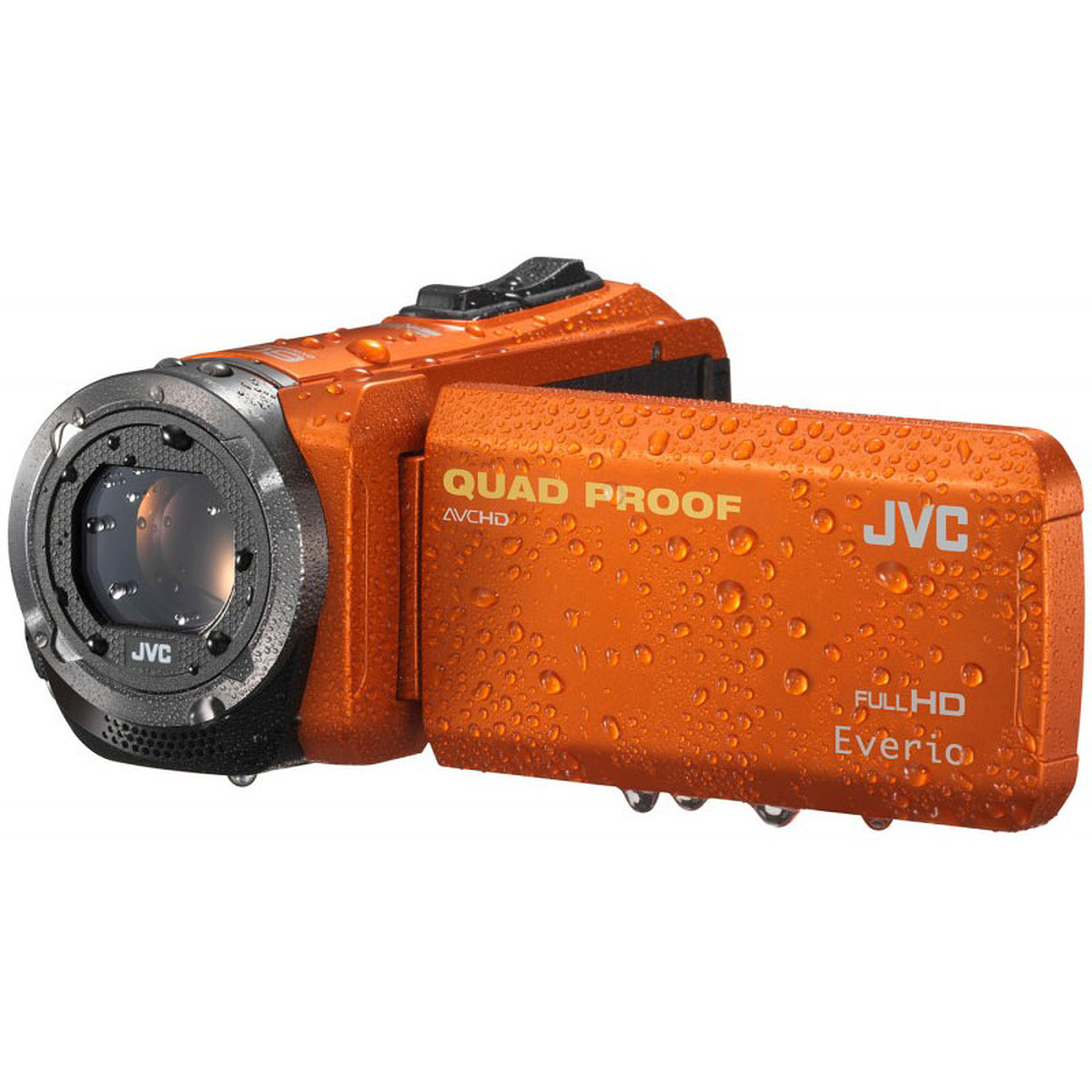 JVC GZ-R315 Orange + Carte SD 8 Go