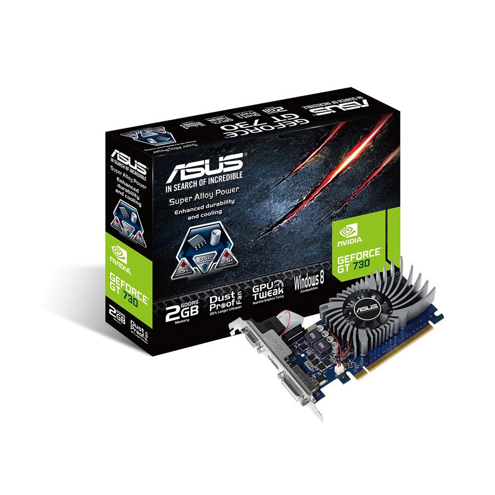 ASUS GT730-2GD5-BRK - GeForce GT 730 2 Go