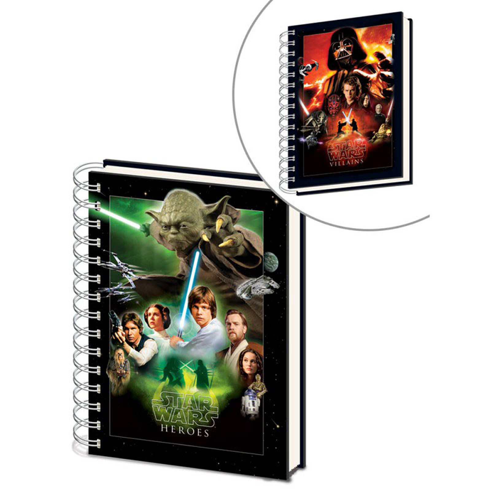 """Cahier A5 Star Wars """"Choose your Side"""""""